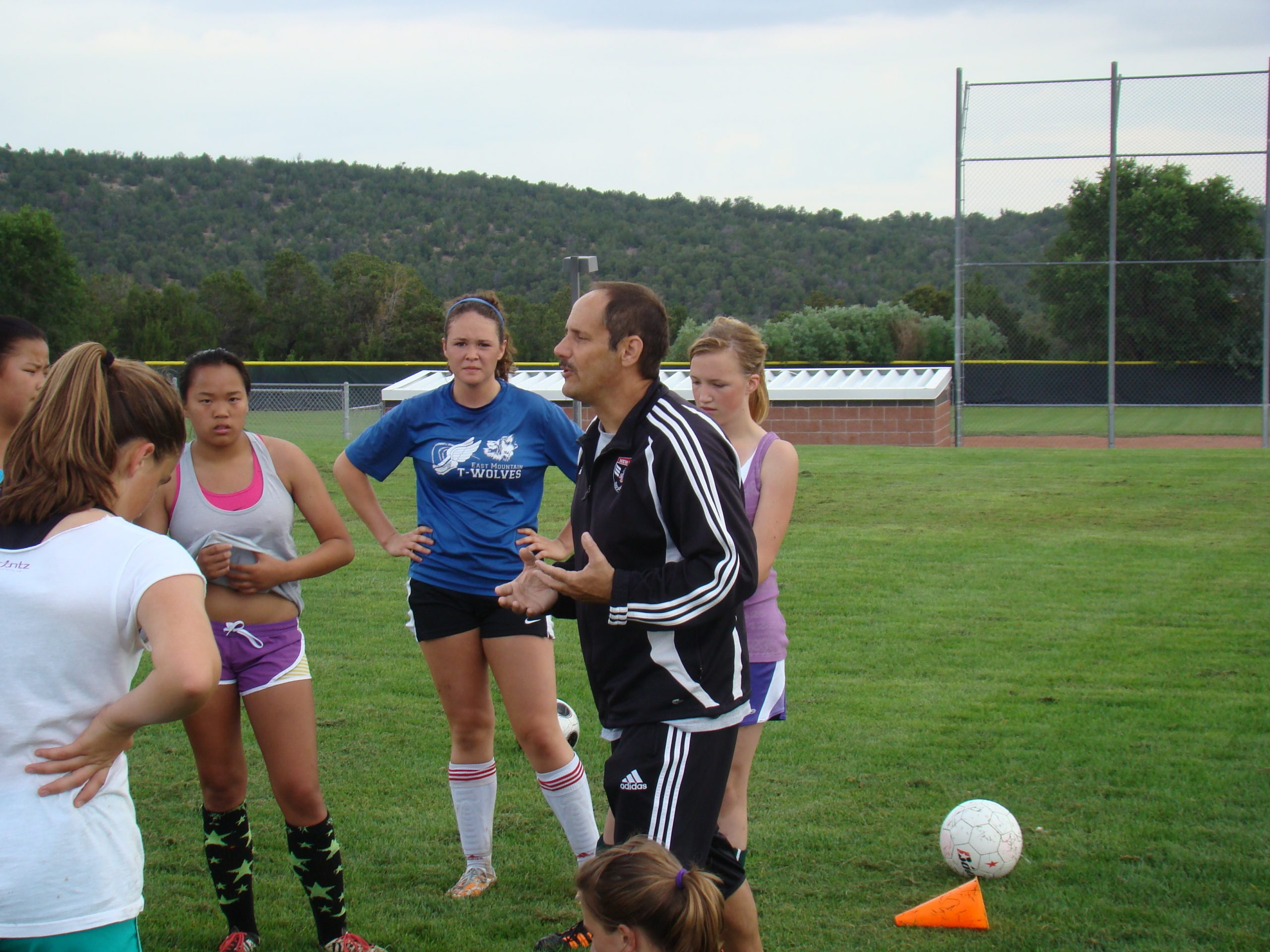 New East Mtn. girls soccer coach wants team to 'play smart soccer'