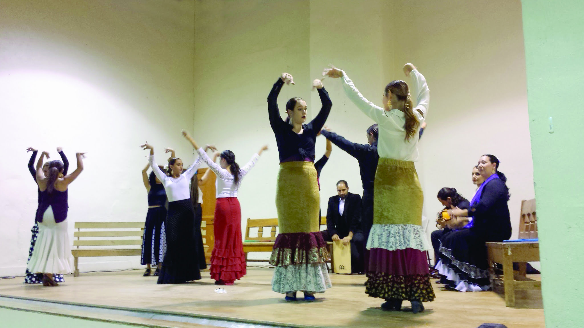 Flamenco de Abó performs in Mountainair