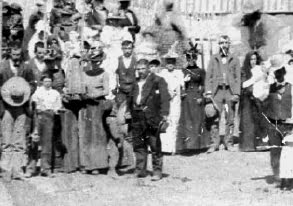 Imagenes del Pasado: A church function around 1896