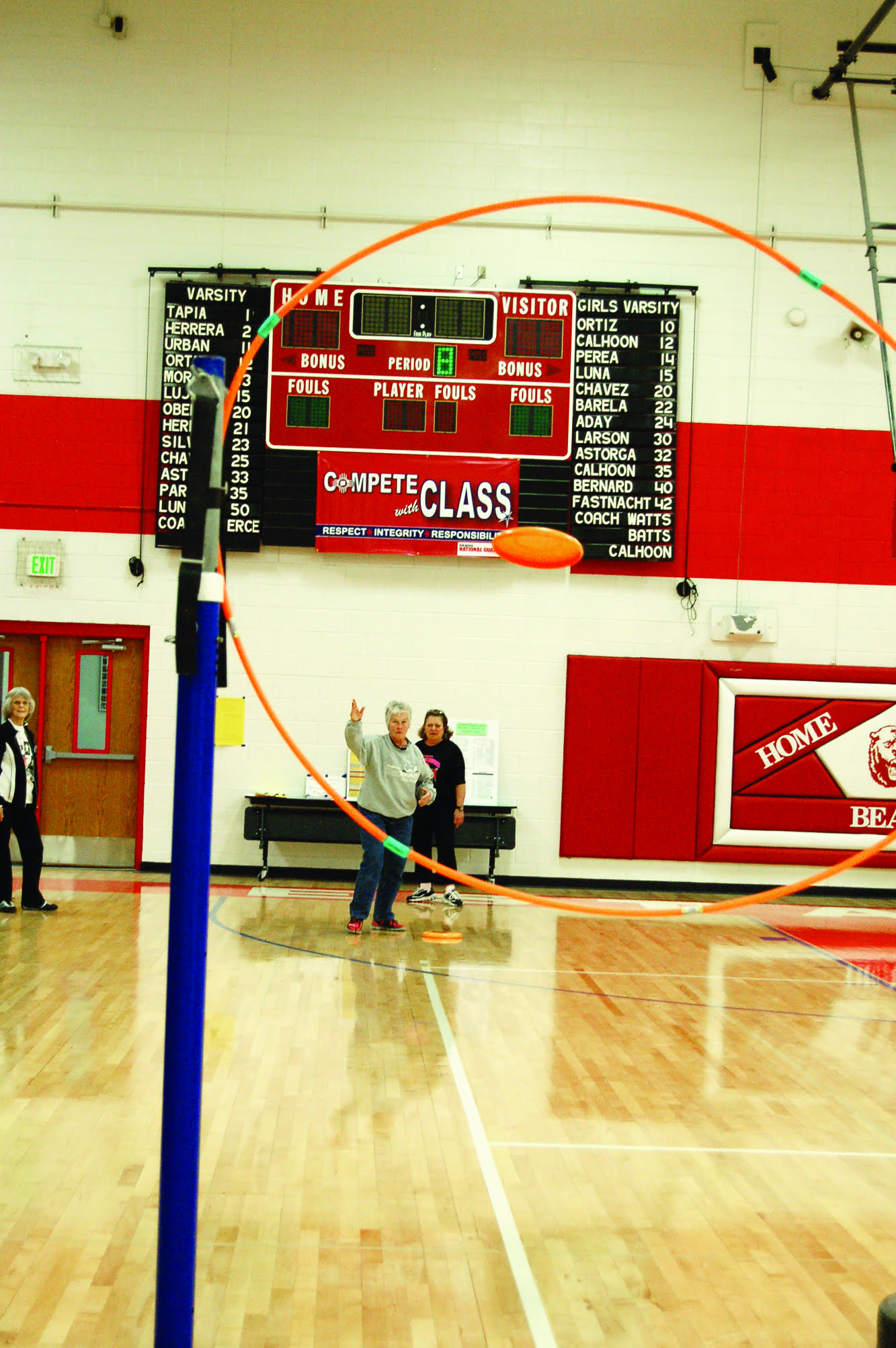 Torrance County 50+ Games got underway Feb. 13 with events in several categories. Photo by Leota Harriman