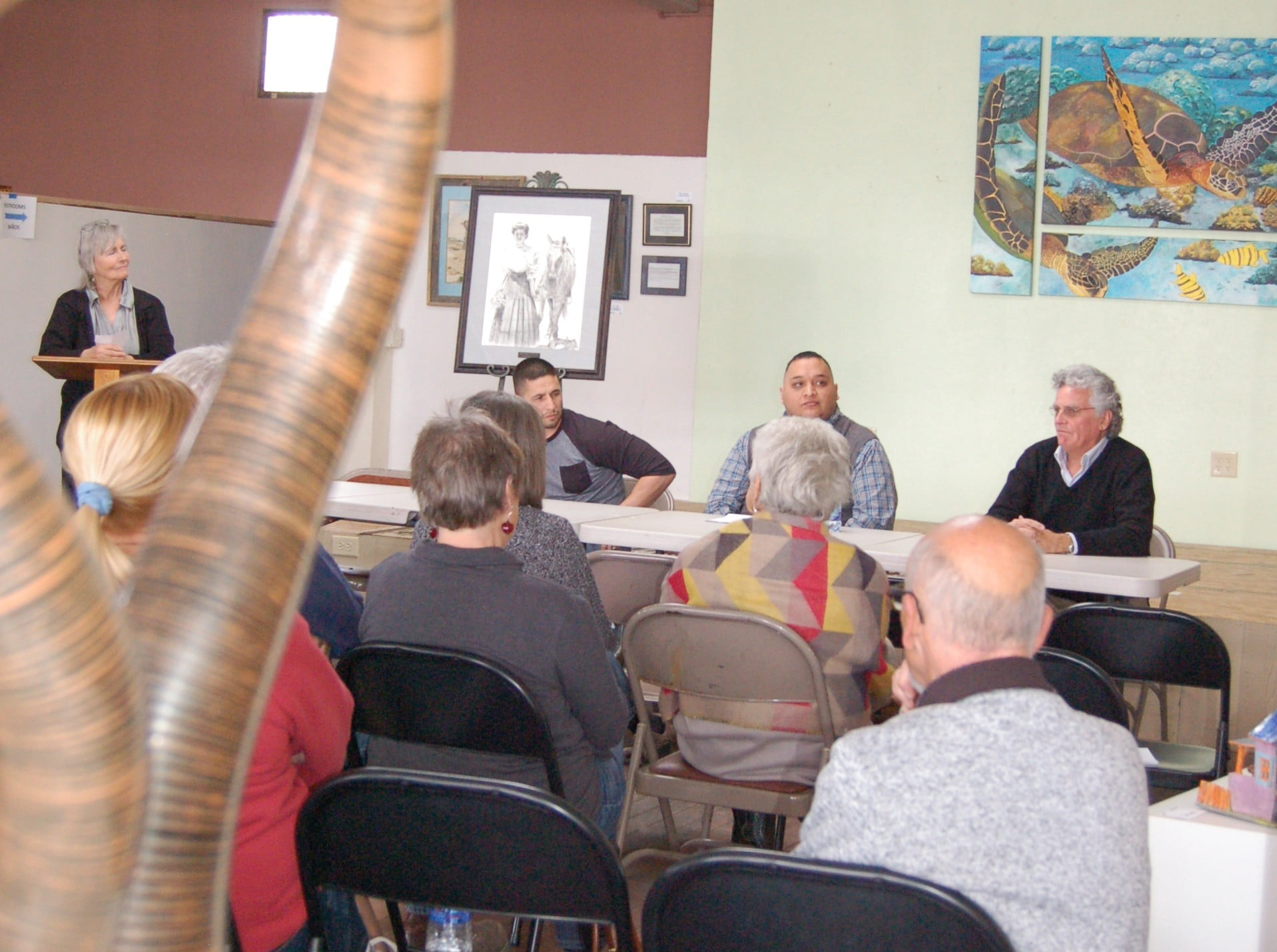 Two forums highlight differences in Mountainair