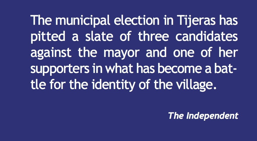 Tijeras election: A battle for the identity of the village