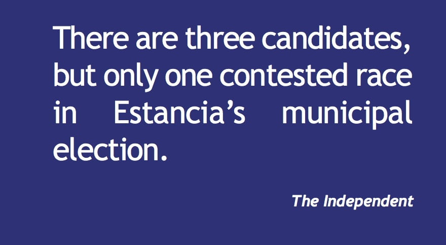Estancia: Newcomer runs against longtime incumbent
