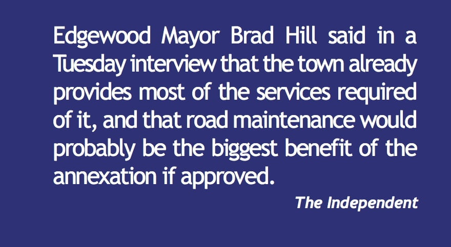 Edgewood files infill petition—again