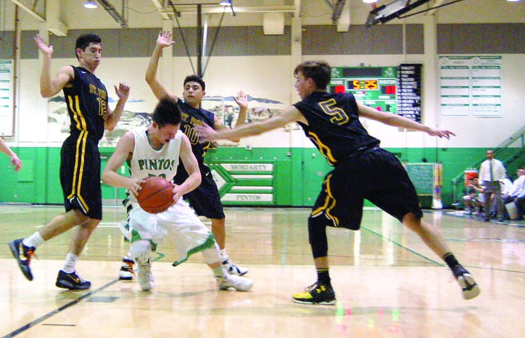 'Great team effort' helps Pintos top St. Pius for the first time in 12 years