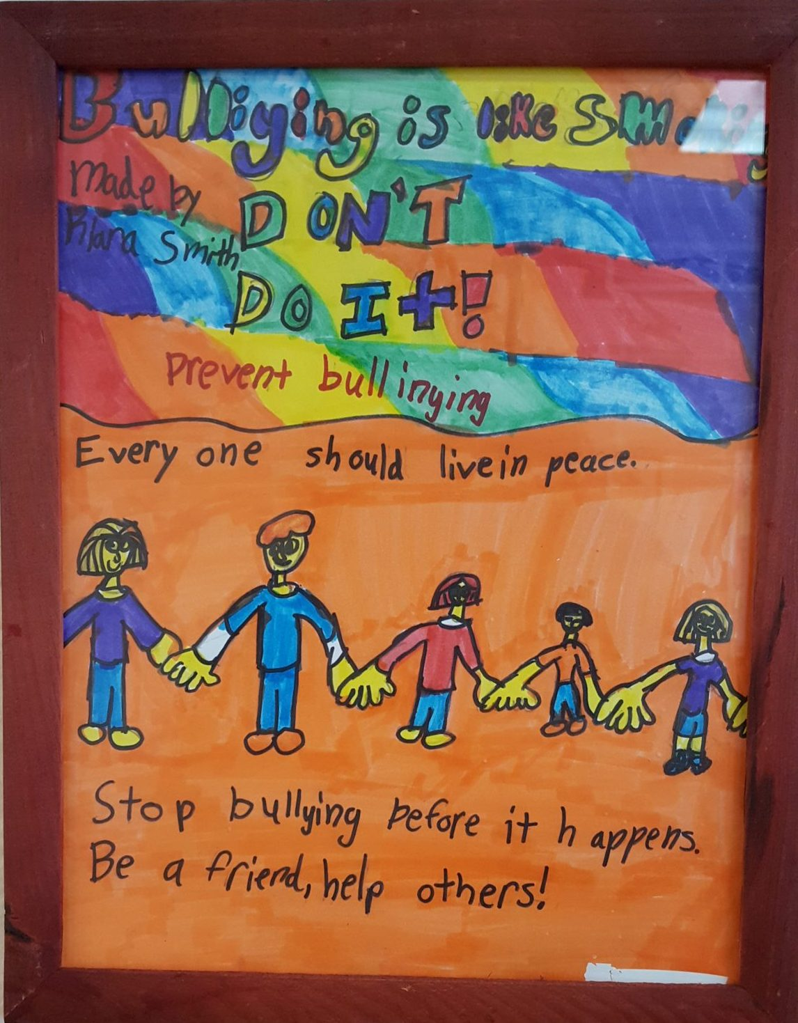 Anti-bullying & Art in the Courts
