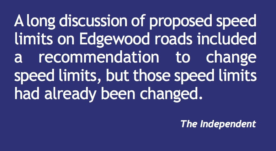 Roads, zoning and infrastructure dominate Edgewood council