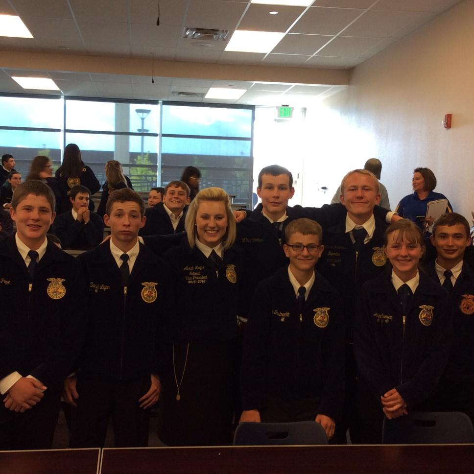 Estancia FFA active at state fair and leadership conference