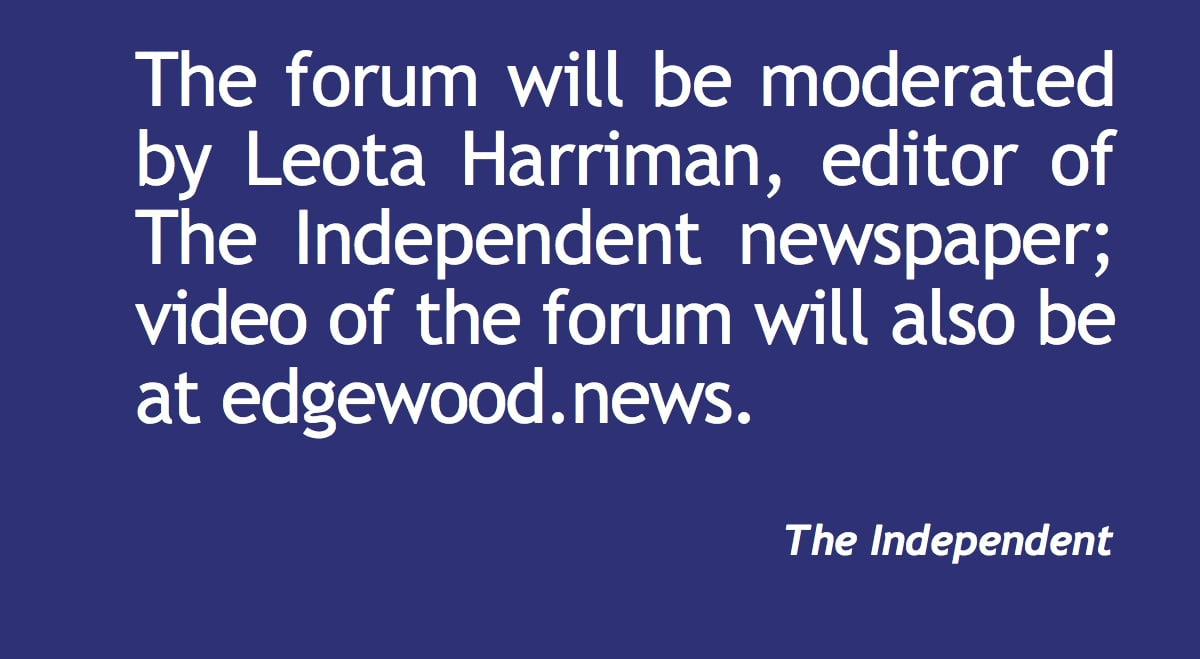 Independent to moderate joint forum
