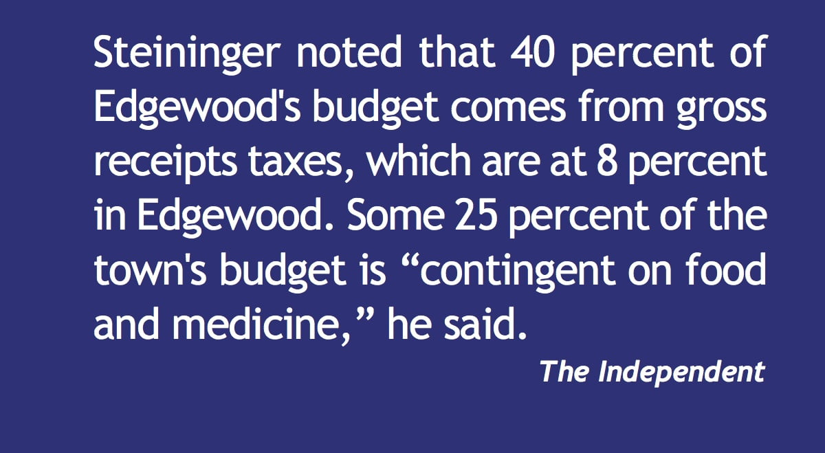 Edgewood's finances in 'fairly sound' condition