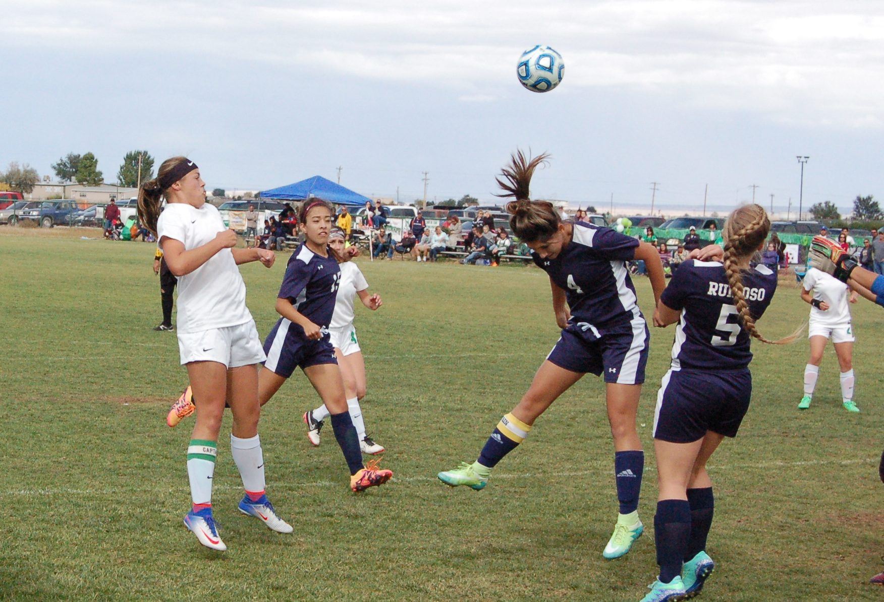 Moriarty girls soccer team loses to Bosque