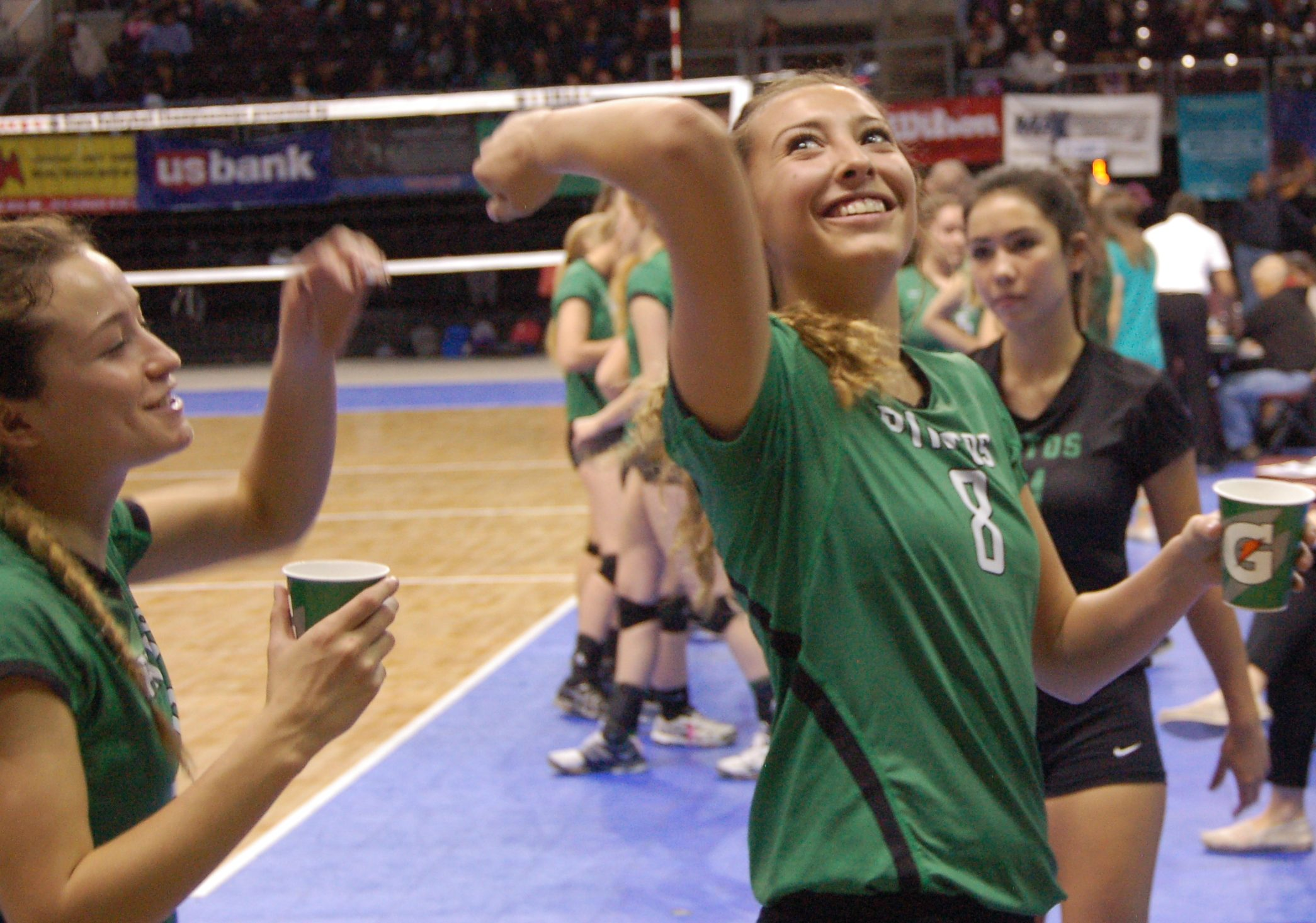 Moriarty volleyball's 'great season' ends at 4A state semifinals