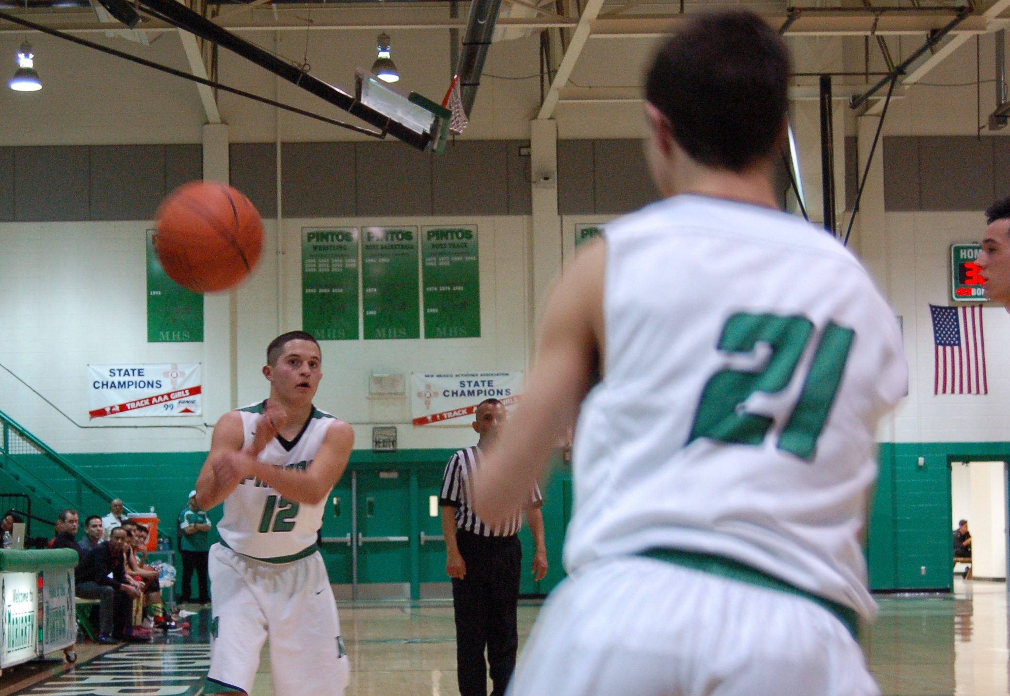 Timely offensive spurts propel Pintos past 'scary' NMMI Colts