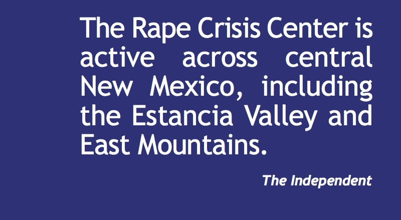 Rape Crisis Center CNM holds rally for awareness