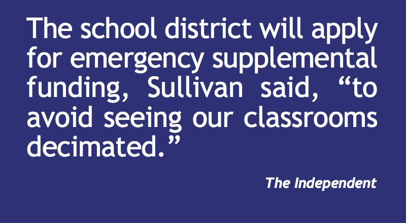 MESD faces $1m shortfall, waiting on Gov's action