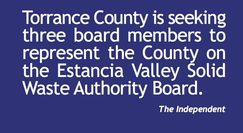 Torrance County seeking volunteers for boards
