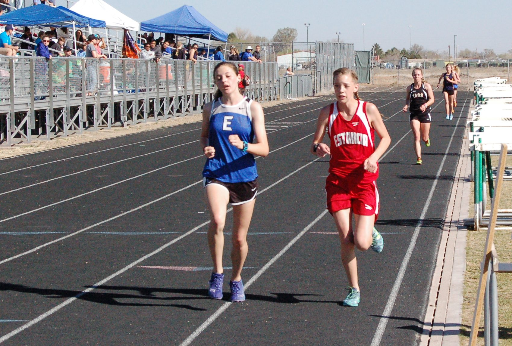 Area track and field competitors shine at Moriarty Qualifier