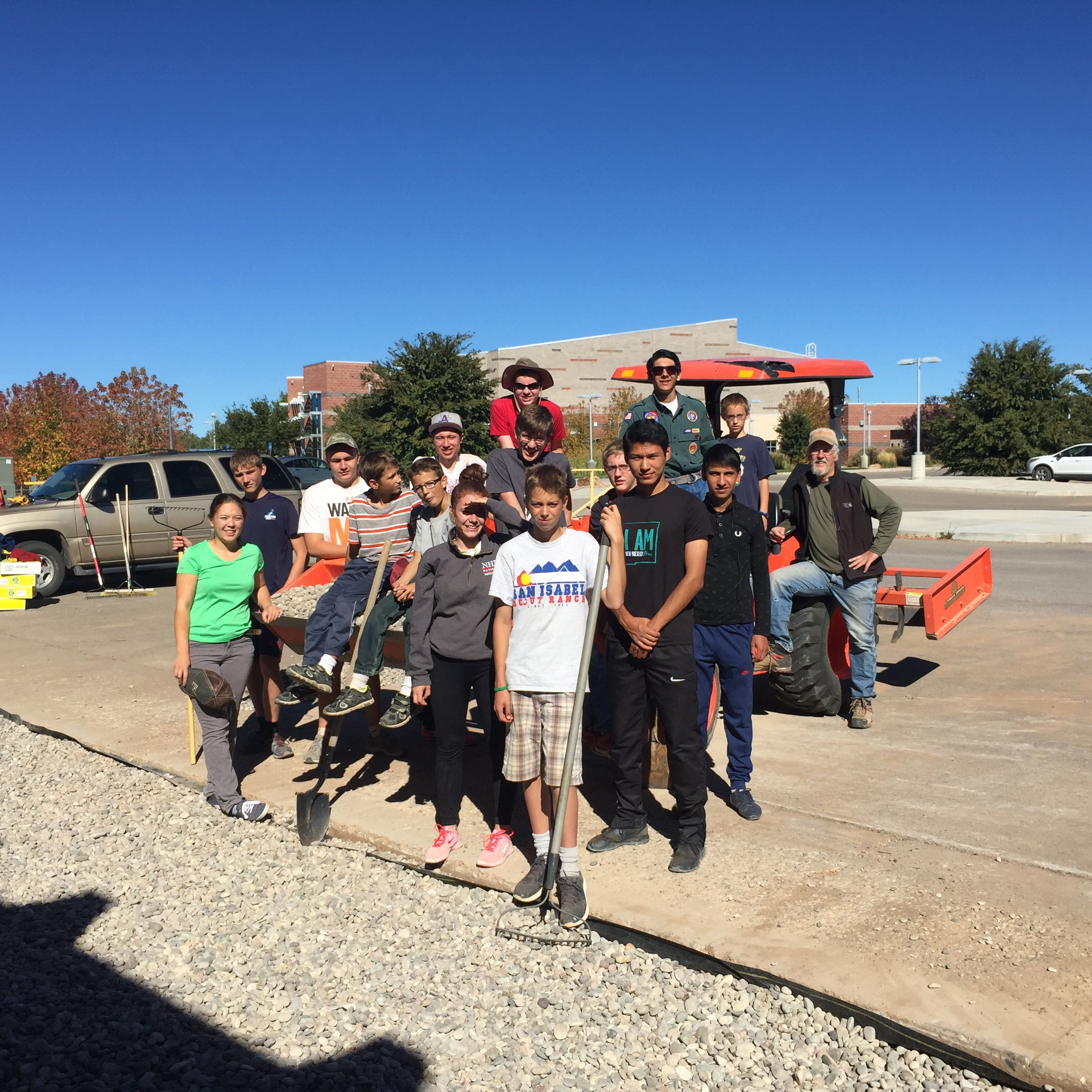 Eagle Scout project improves MHS campus
