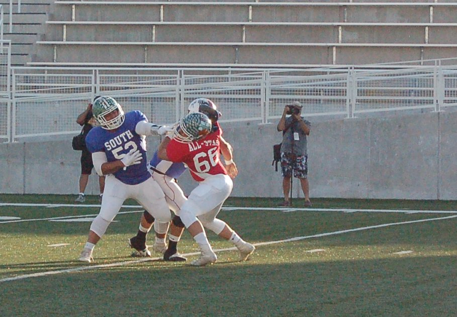 Scuffle spoils North-South All-Star football game