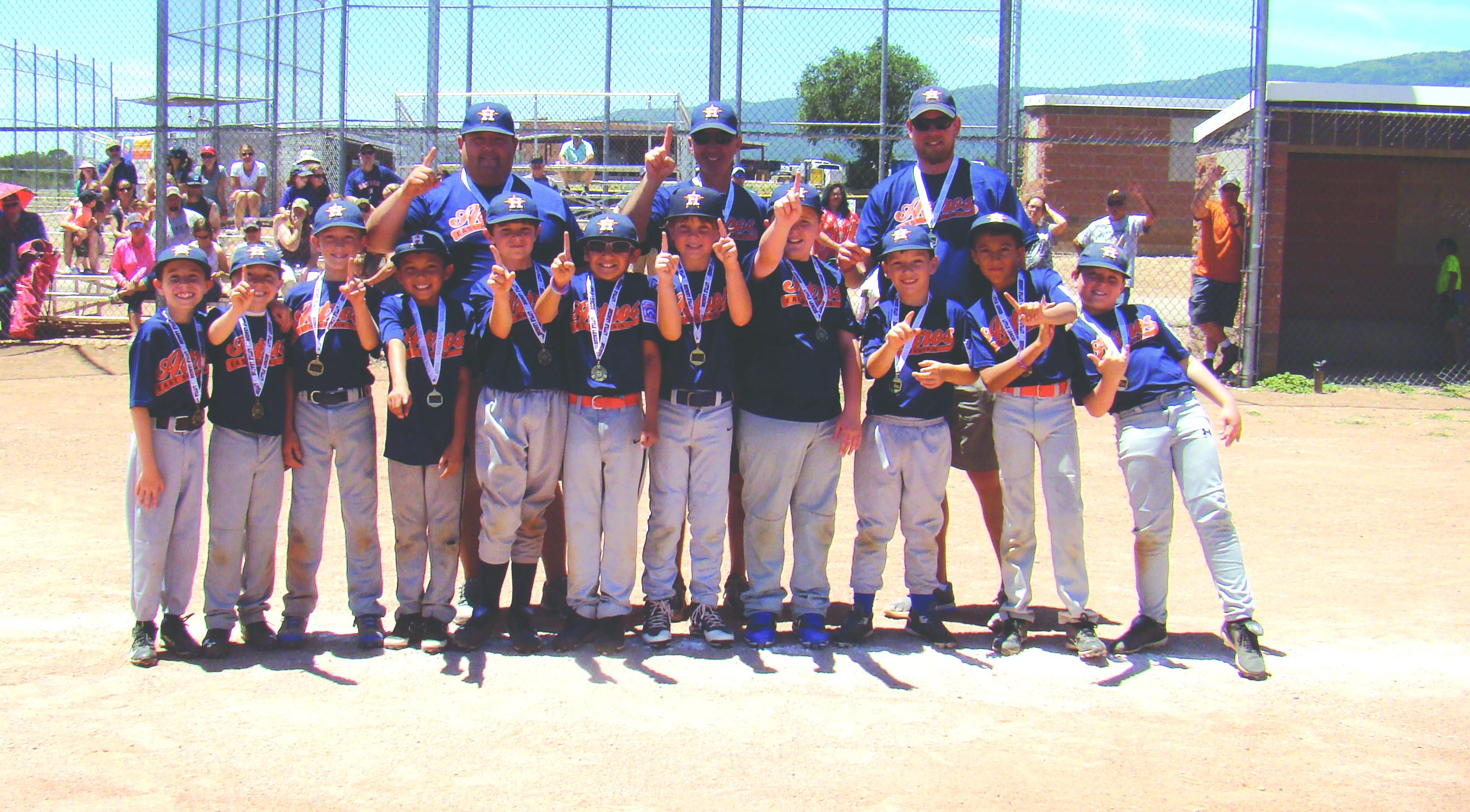 Walk-off hit gives East Mtn. Little League Astros championship