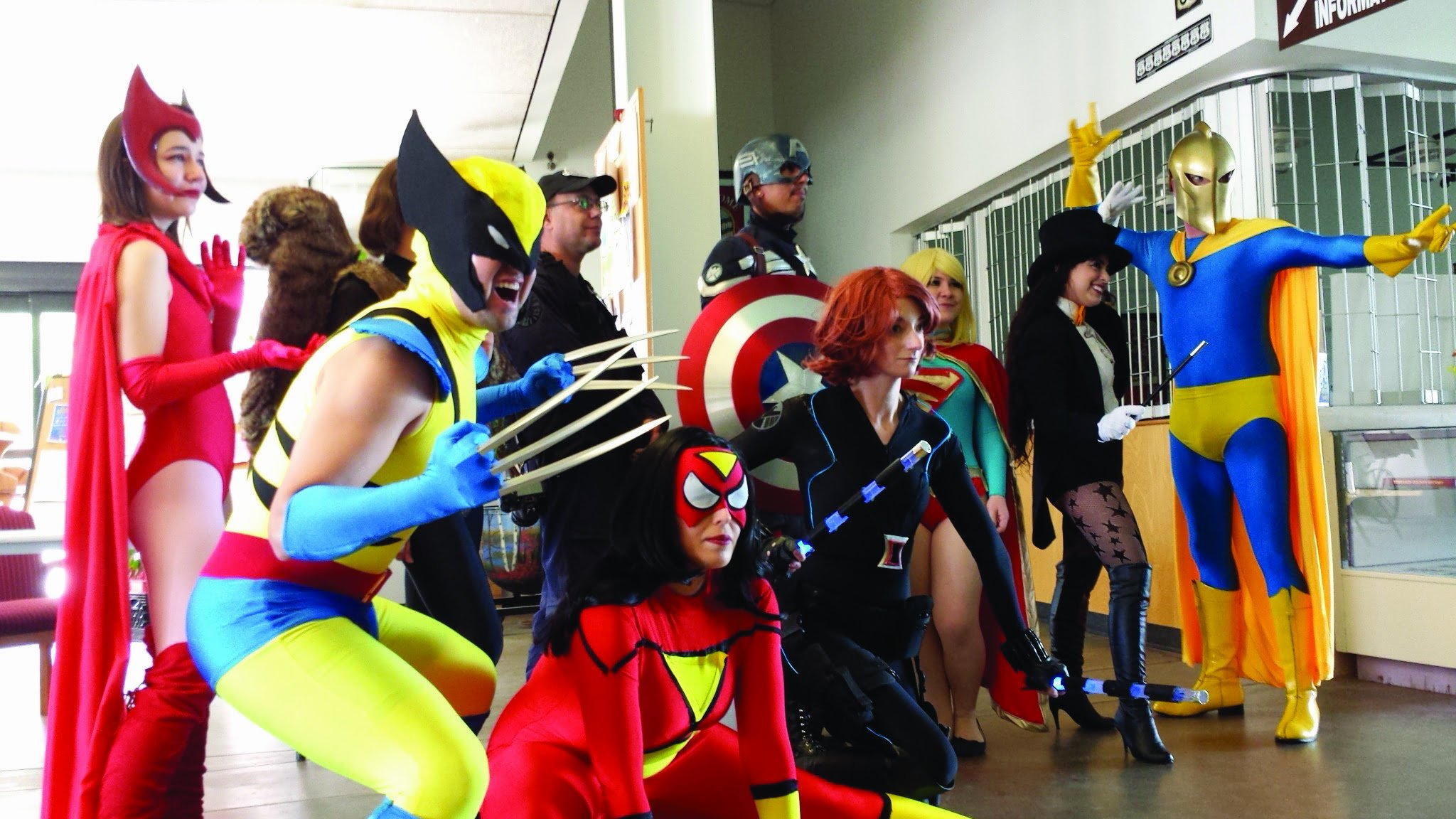 'Halloween for nerds': mini ComicCon in Moriarty