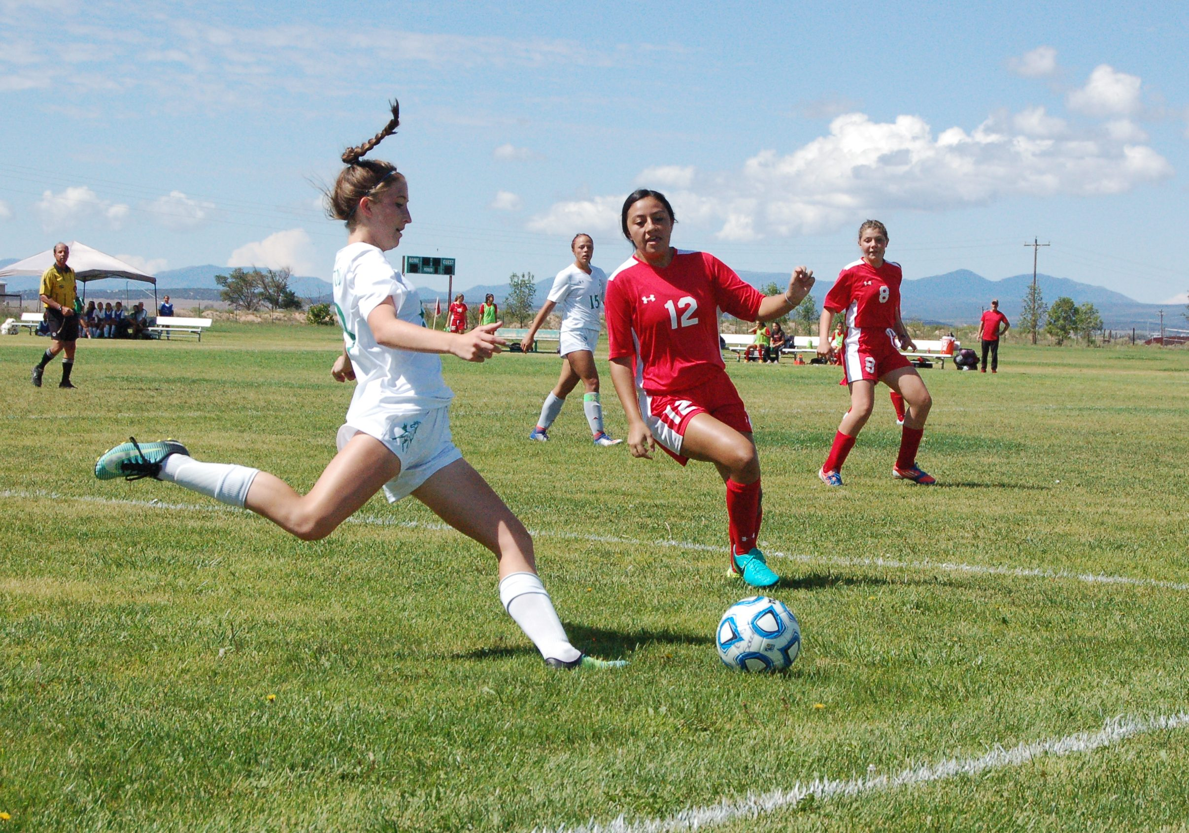 Moriarty girls soccer beats Robertson 3-2 in 'grudge match'