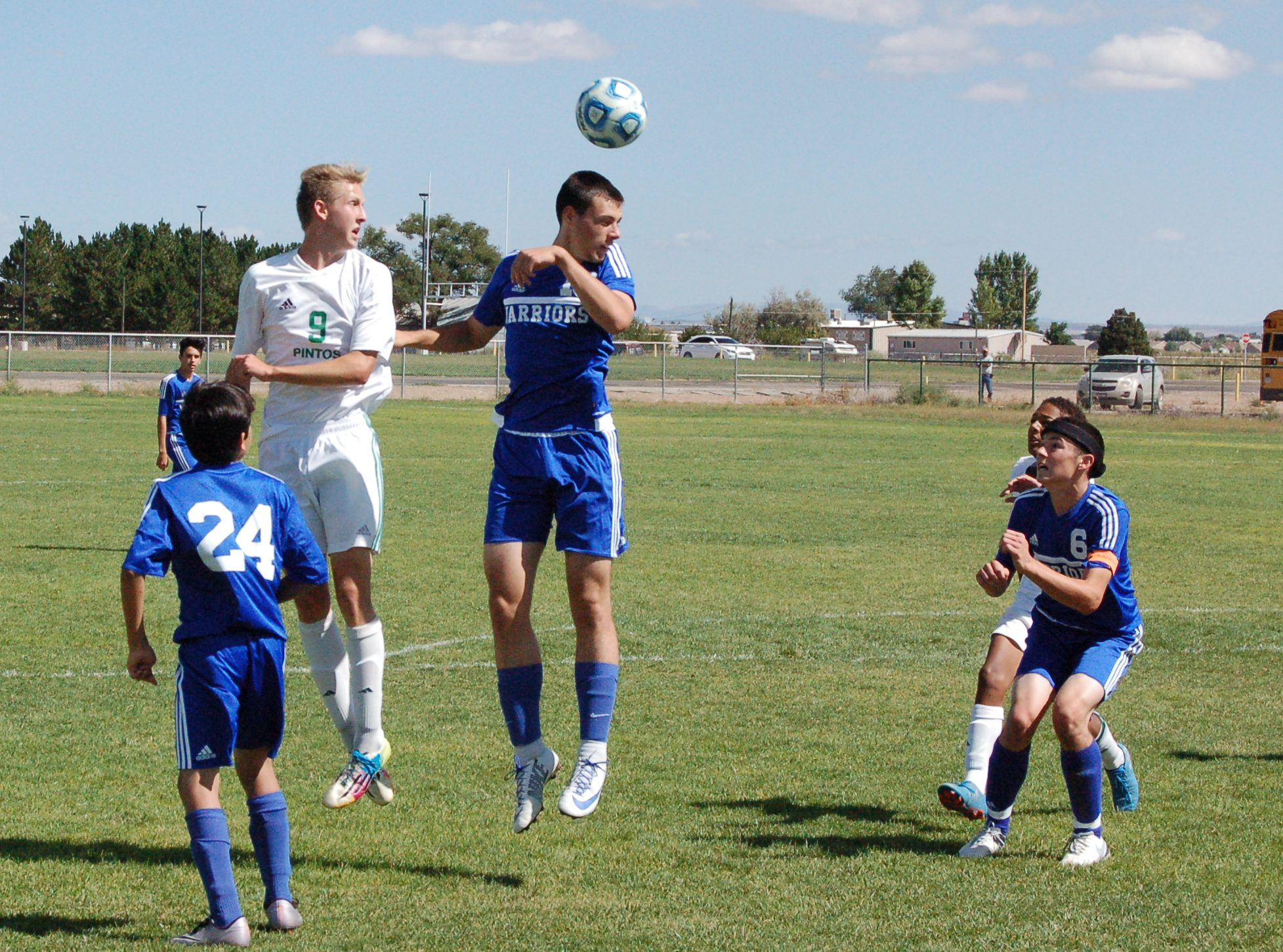 Moriarty boys soccer rebounds with 5-1 win over Socorro