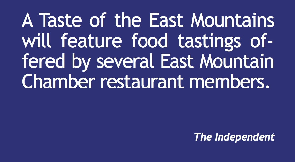 Chamber hosts Taste of the East Mountains