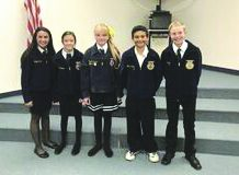 Estancia FFA Creed Contest winners