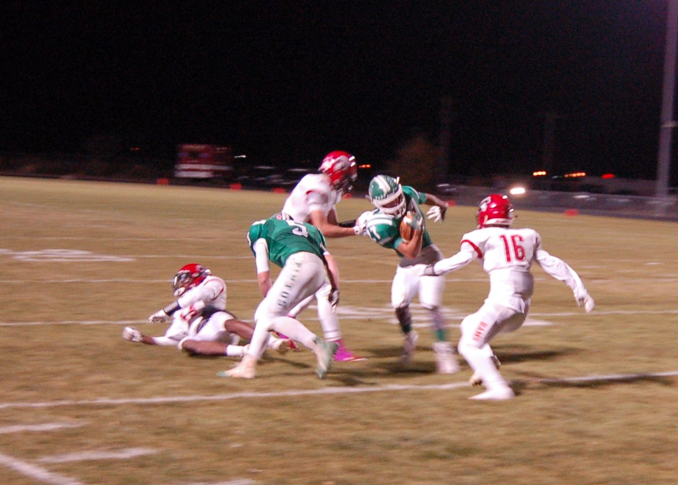 Moriarty football comes up short in 13-7 loss to Portales