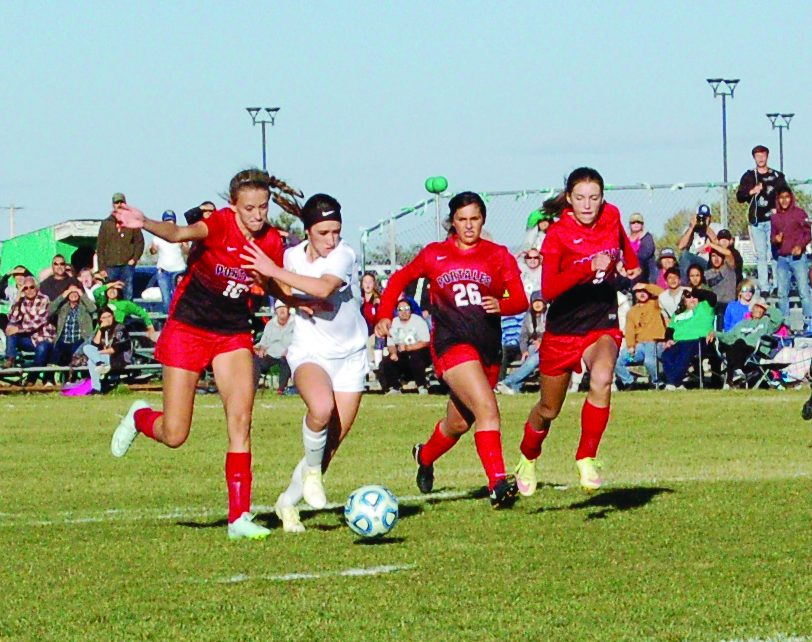Moriarty girls soccer beats Portales for first playoff victory since 2009