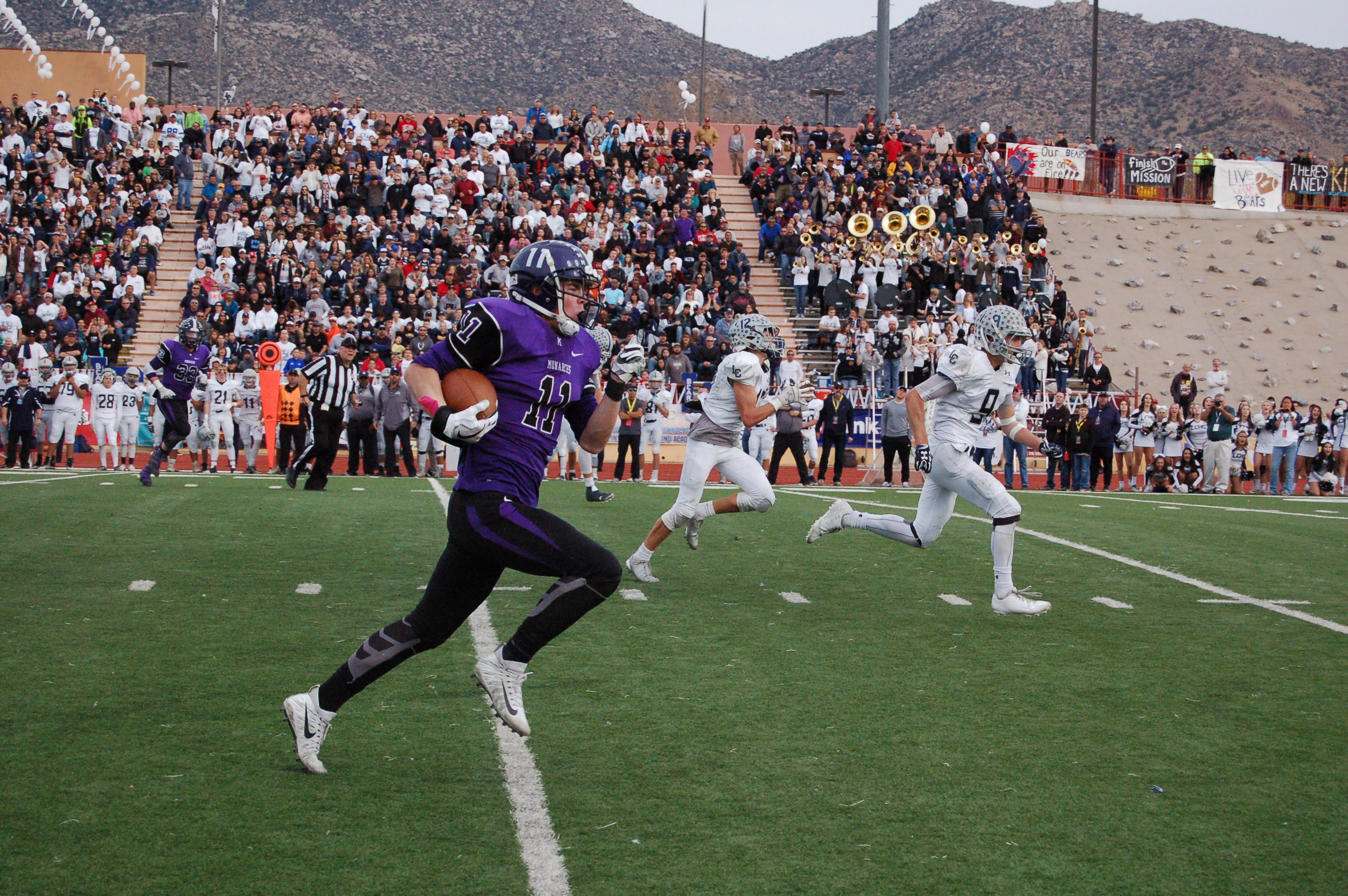 E. Mtn. resident helps Monarchs capture first-ever state football crown