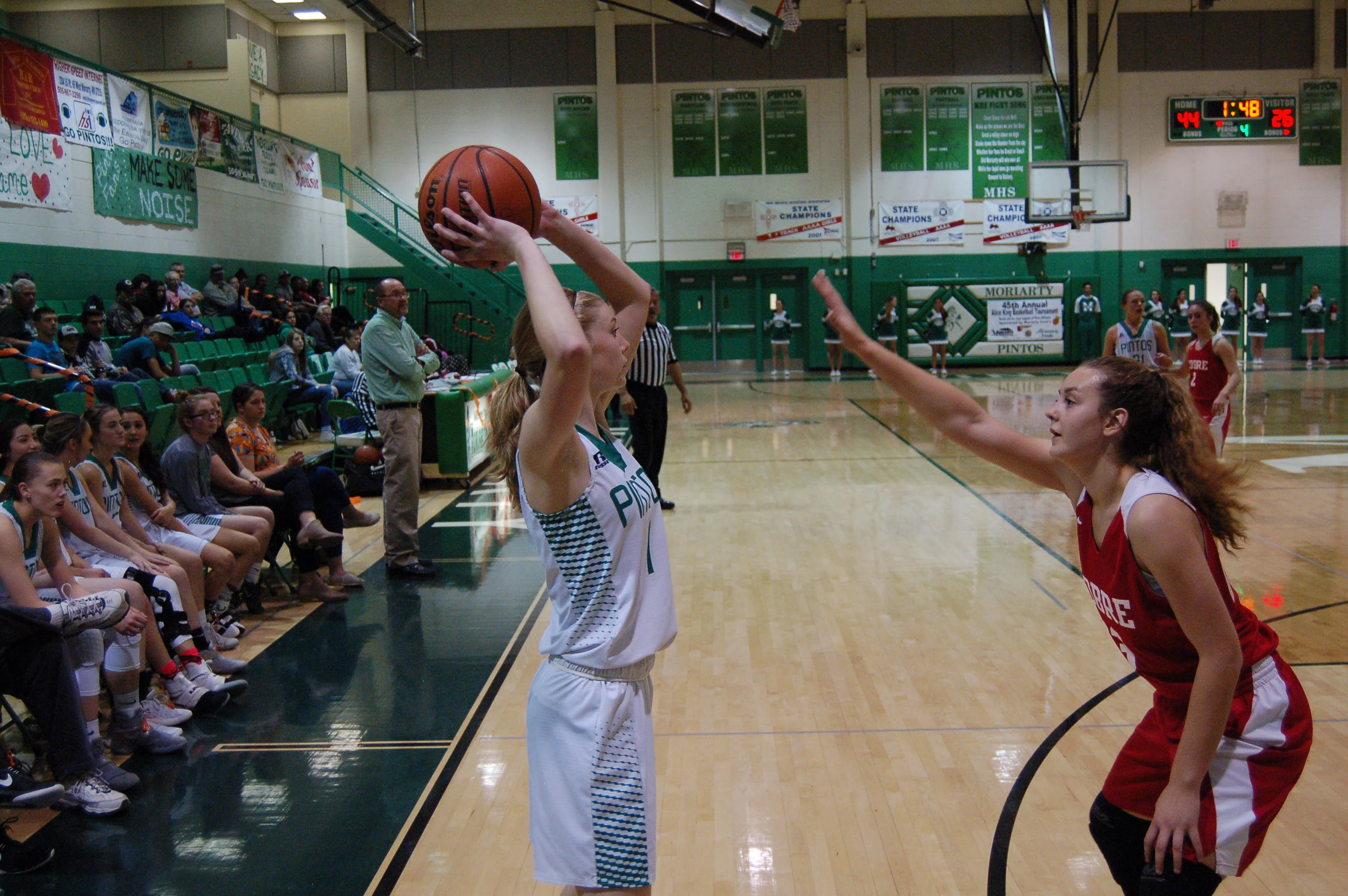 Moriarty girls basketball claims first Alice King crown in 10 years