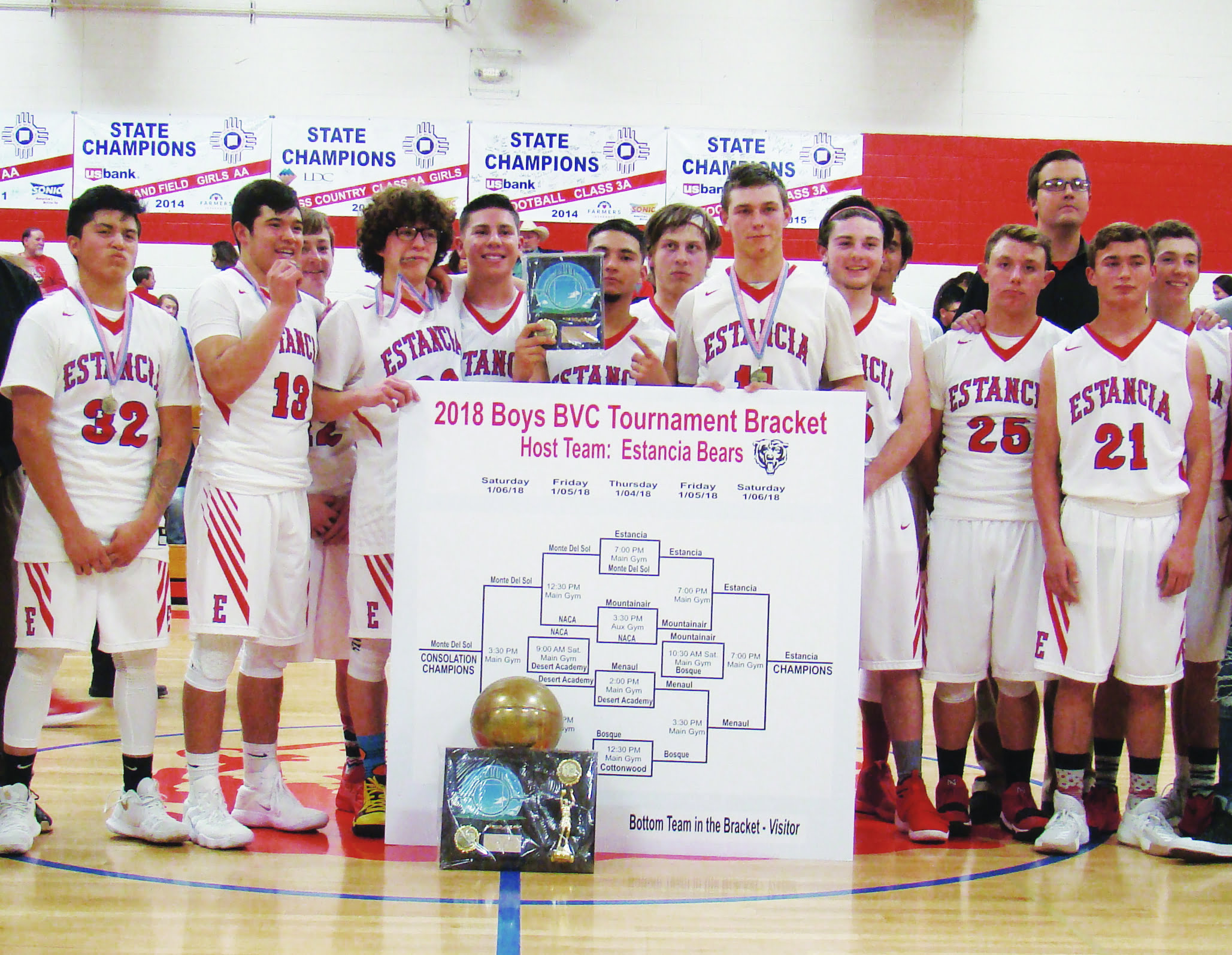 Estancia Bears back on top of Bean Valley Conference Tourney