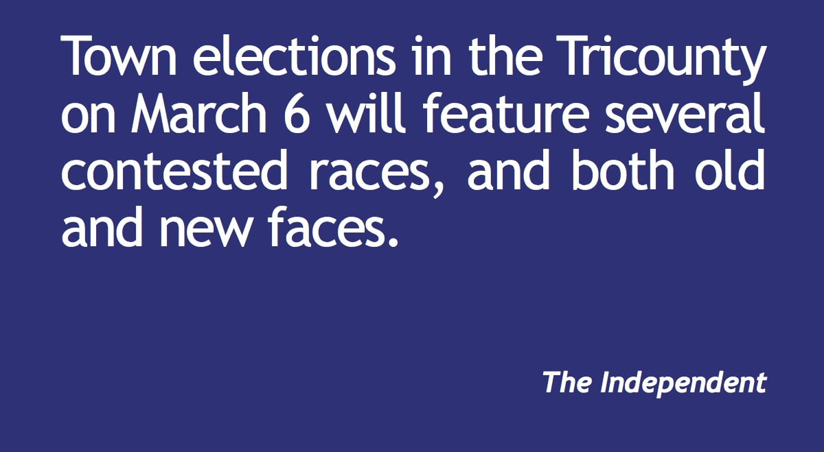 Plenty of contested town races in Tricounty elections
