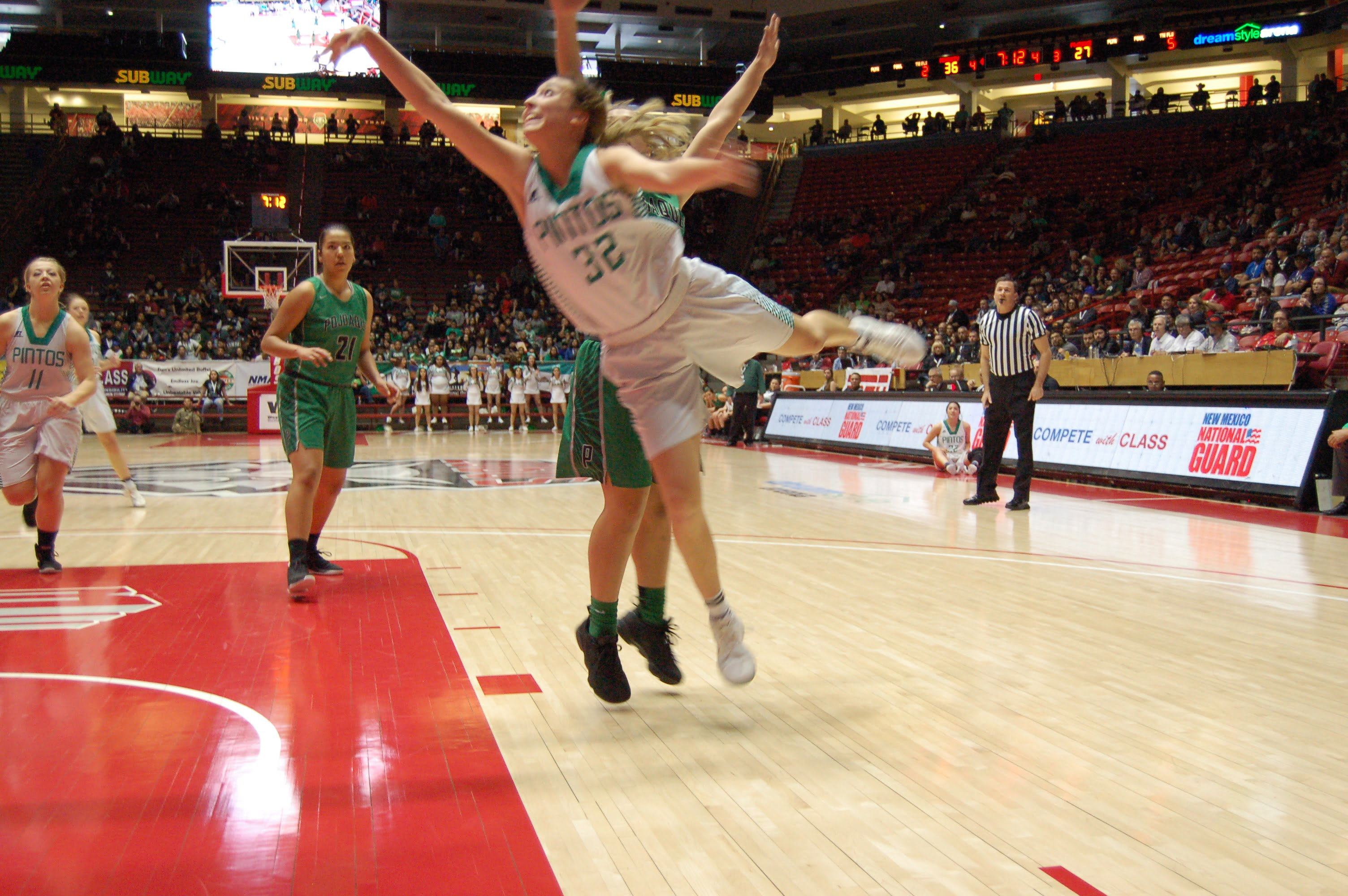 After memorable ride, Moriarty girls fall in state championship