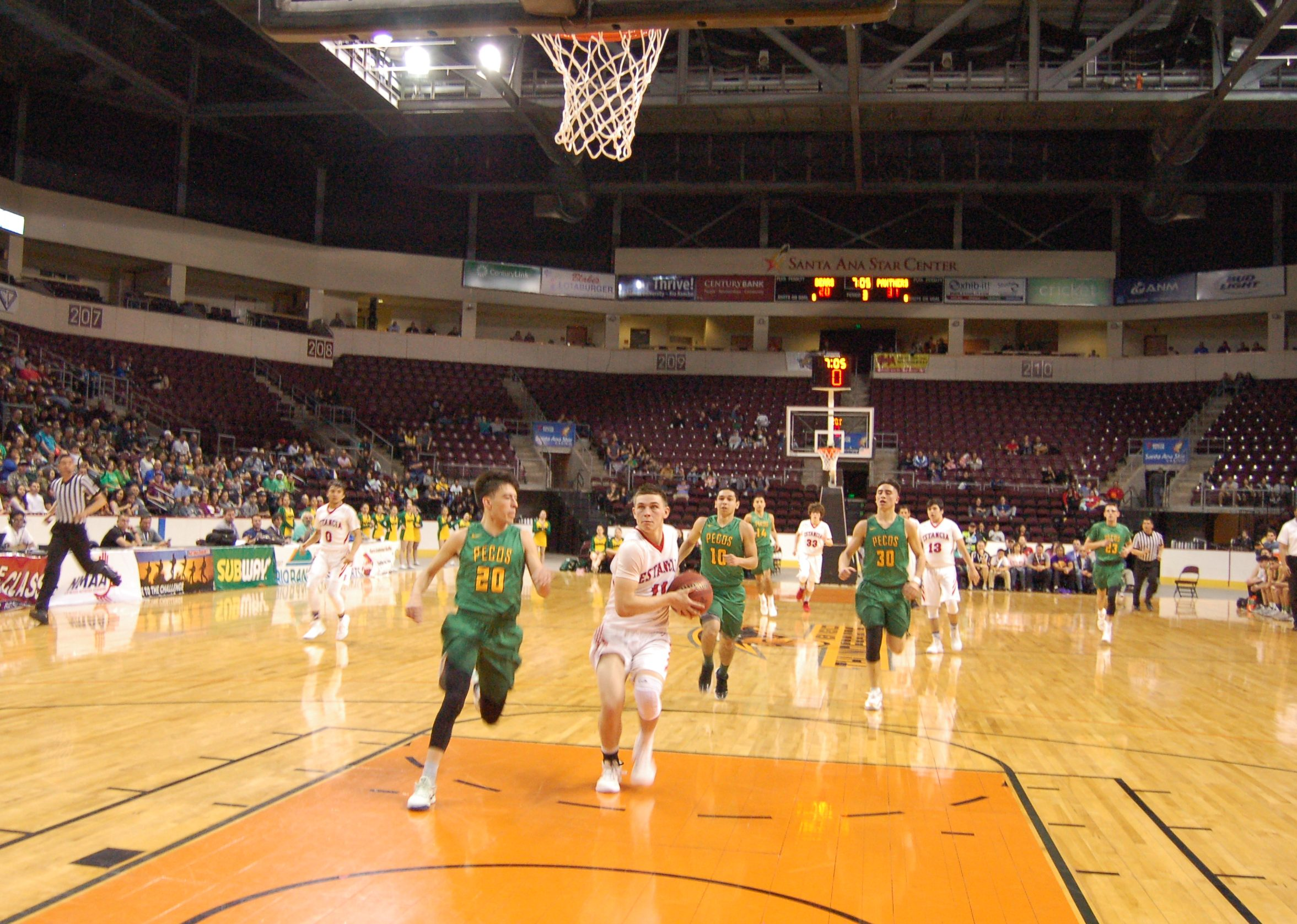 Moriarty boys win state quarterfinal, fall in semis