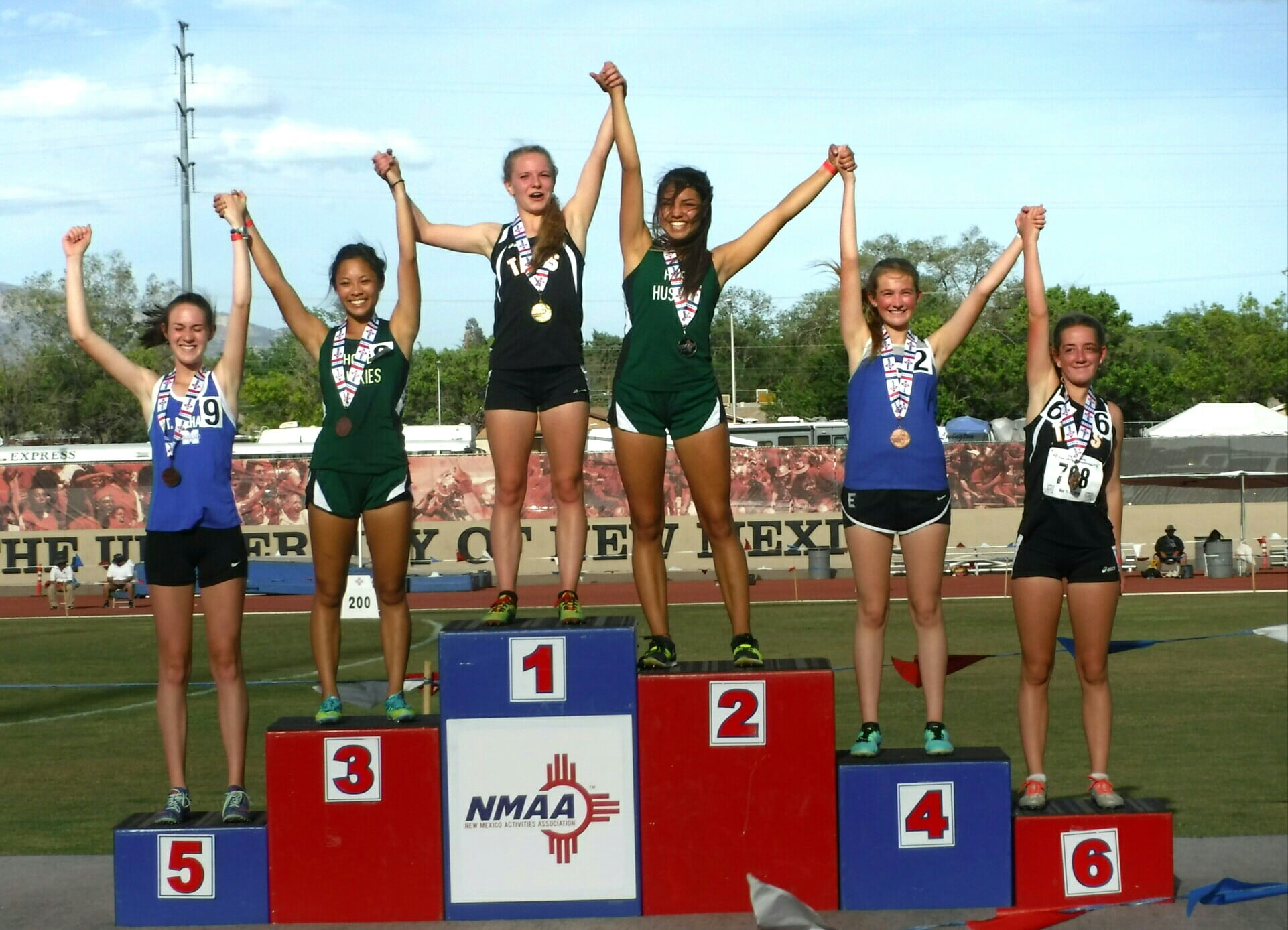 Moriarty, East Mountain, Manzano shine at state track championships