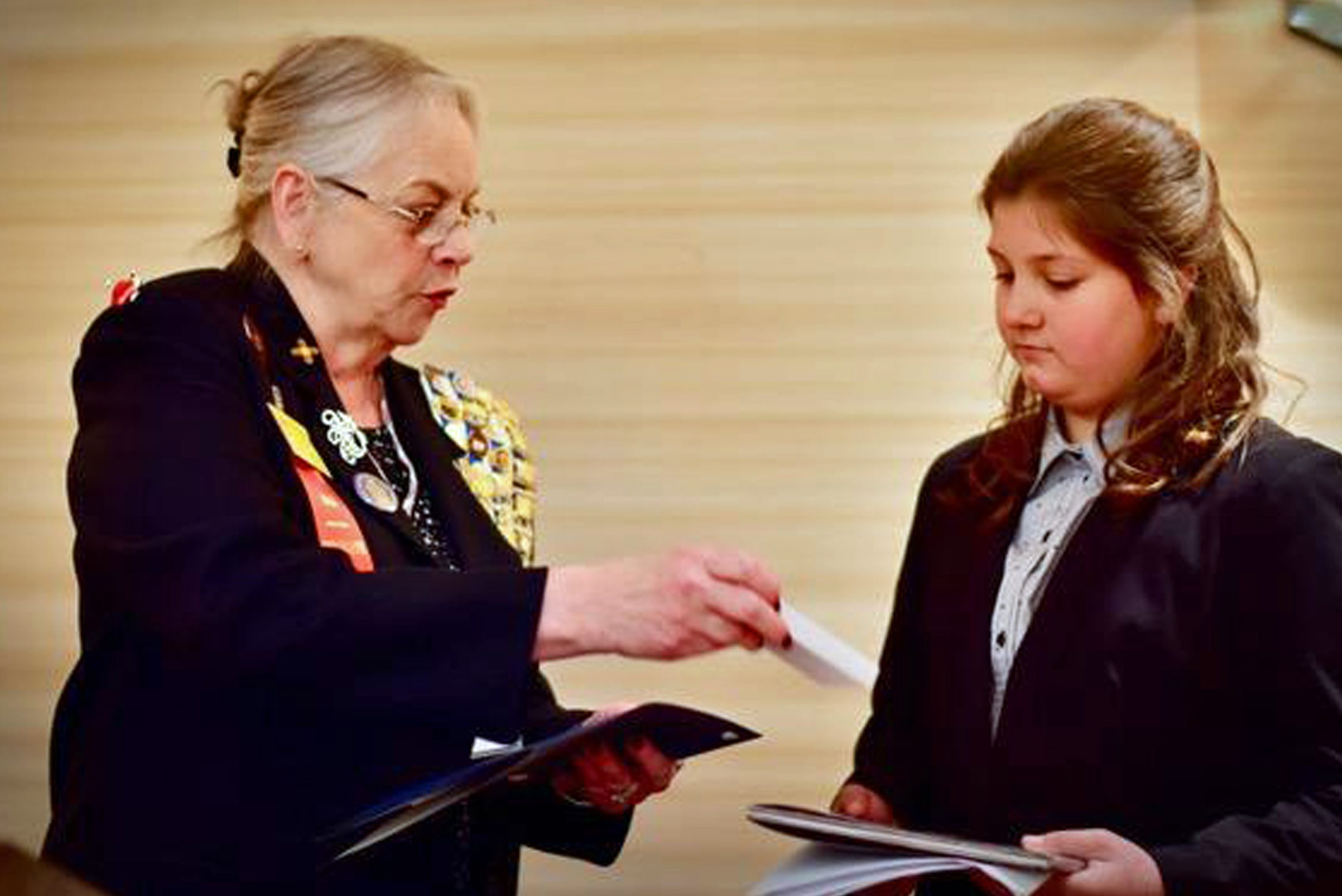 Moriarty student wins local and state D.A.R. essay contest