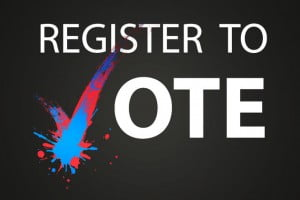 Last day to register in order to vote in primary