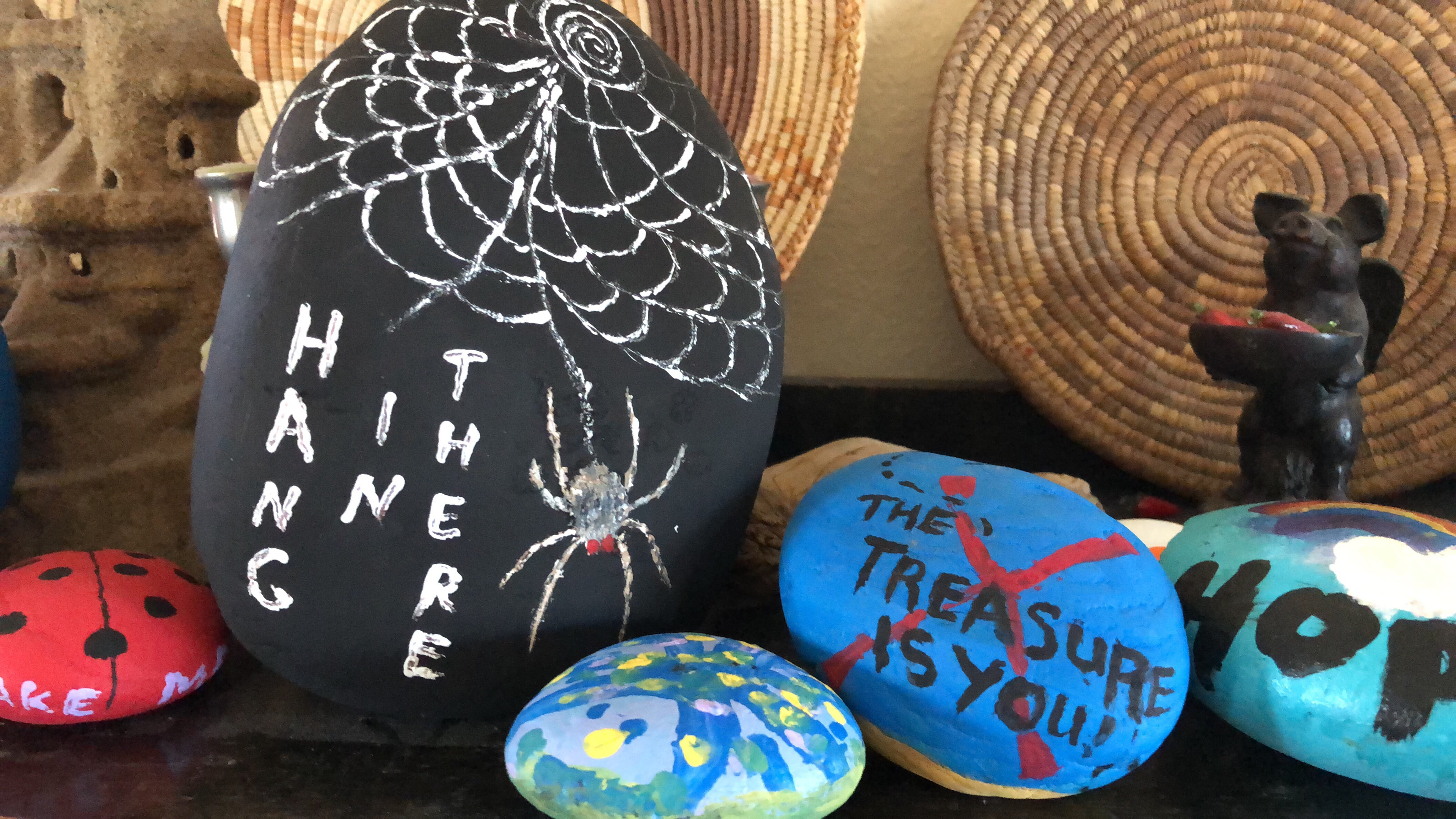 'Kindness rock' trend hits the East Mountains