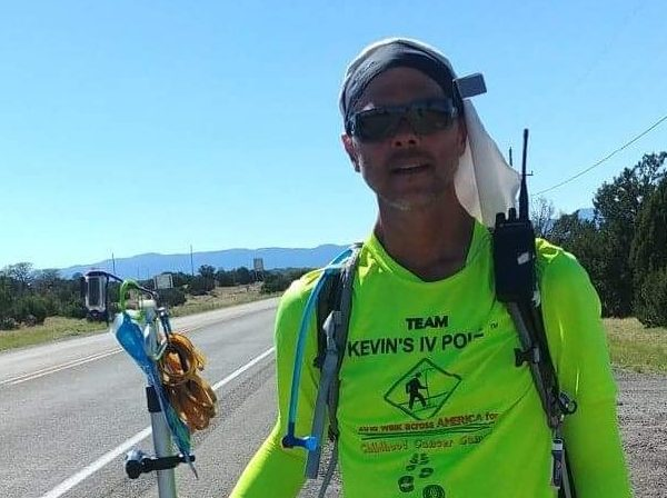 Kevin's IV Pole: A Walk Across the Country