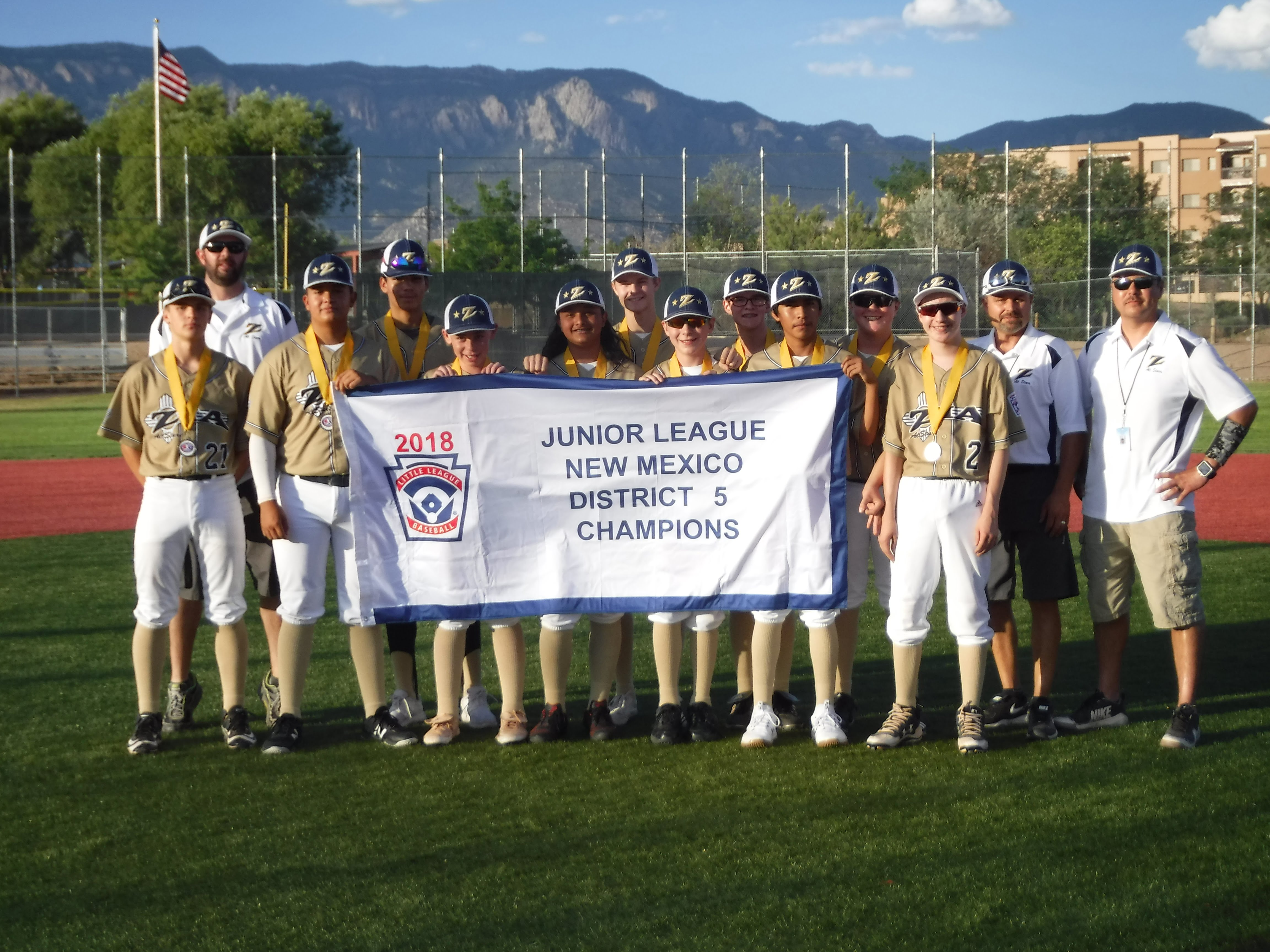 East Mountain-Zia-Mile High combo All-Stars continue to win