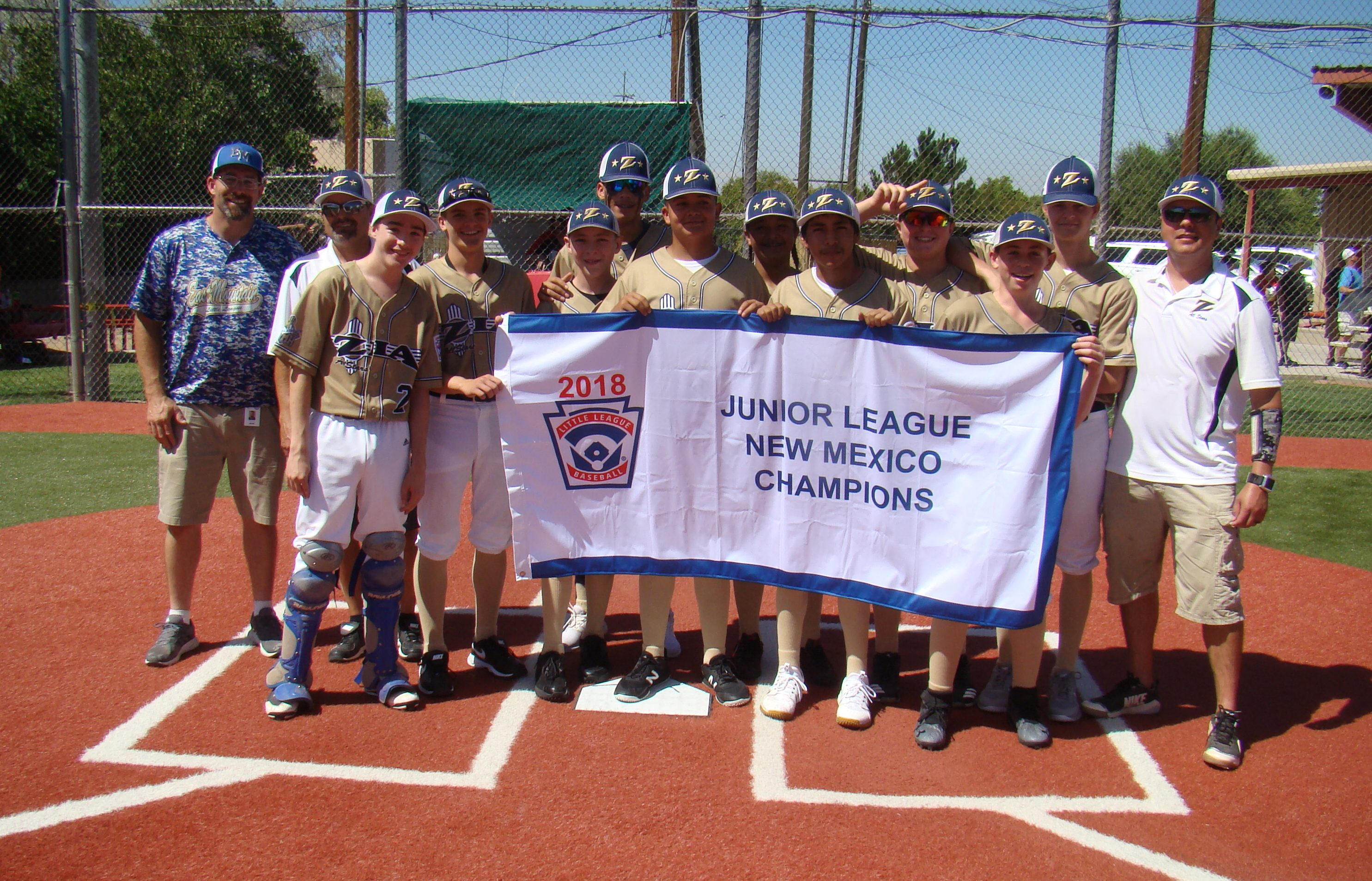 East Mountain players, chemistry lift Little League combo team to state title