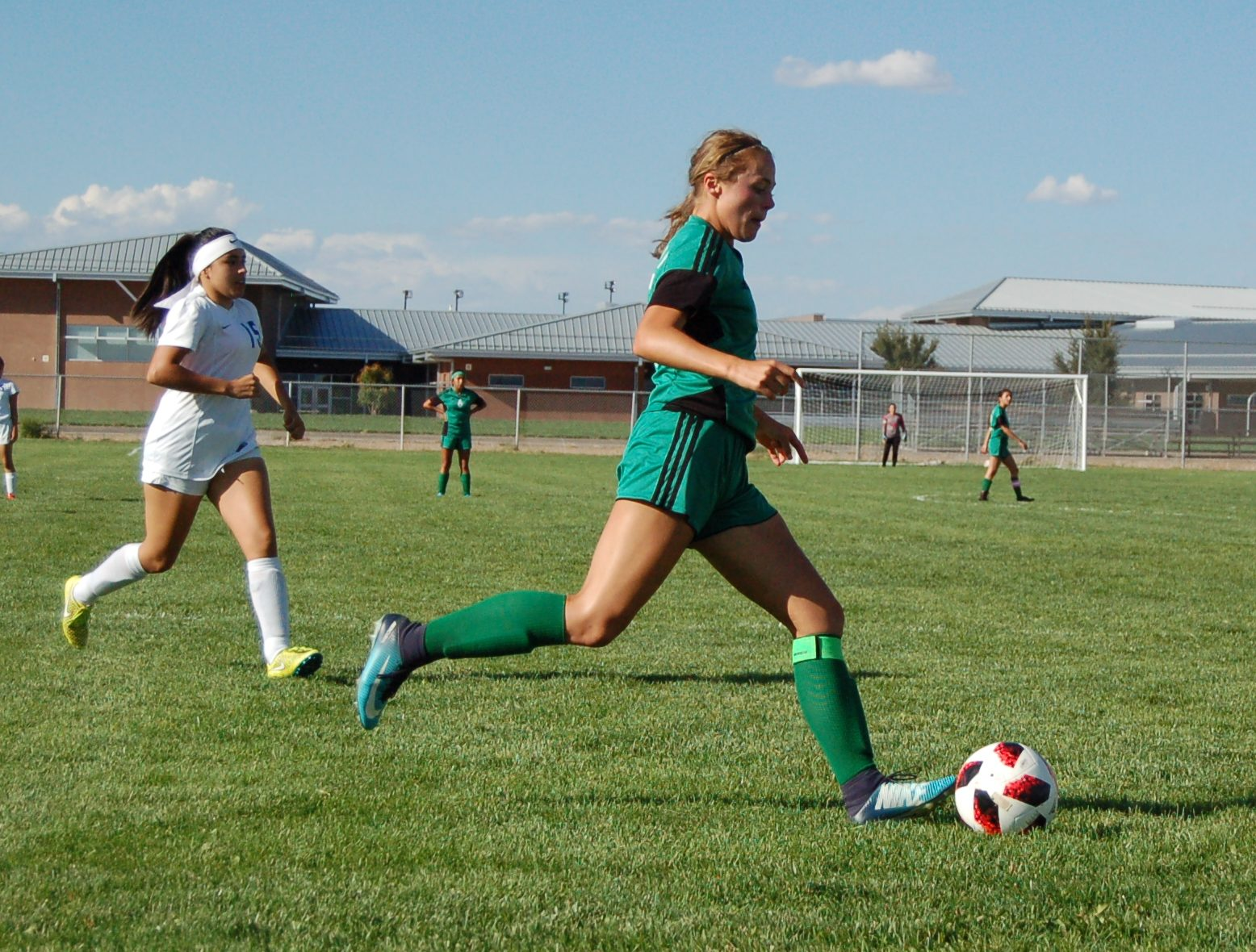 Strader nets 4 goals to lift Lady Pintos over West Mesa
