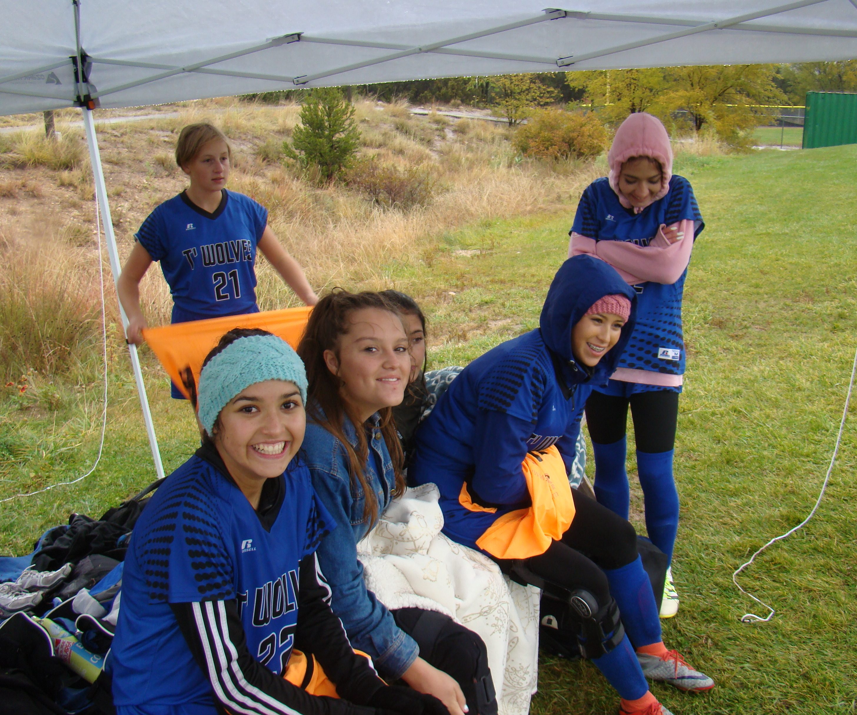 East Mountain girls soccer squad's 'spirits up' after rainy victory over ATC