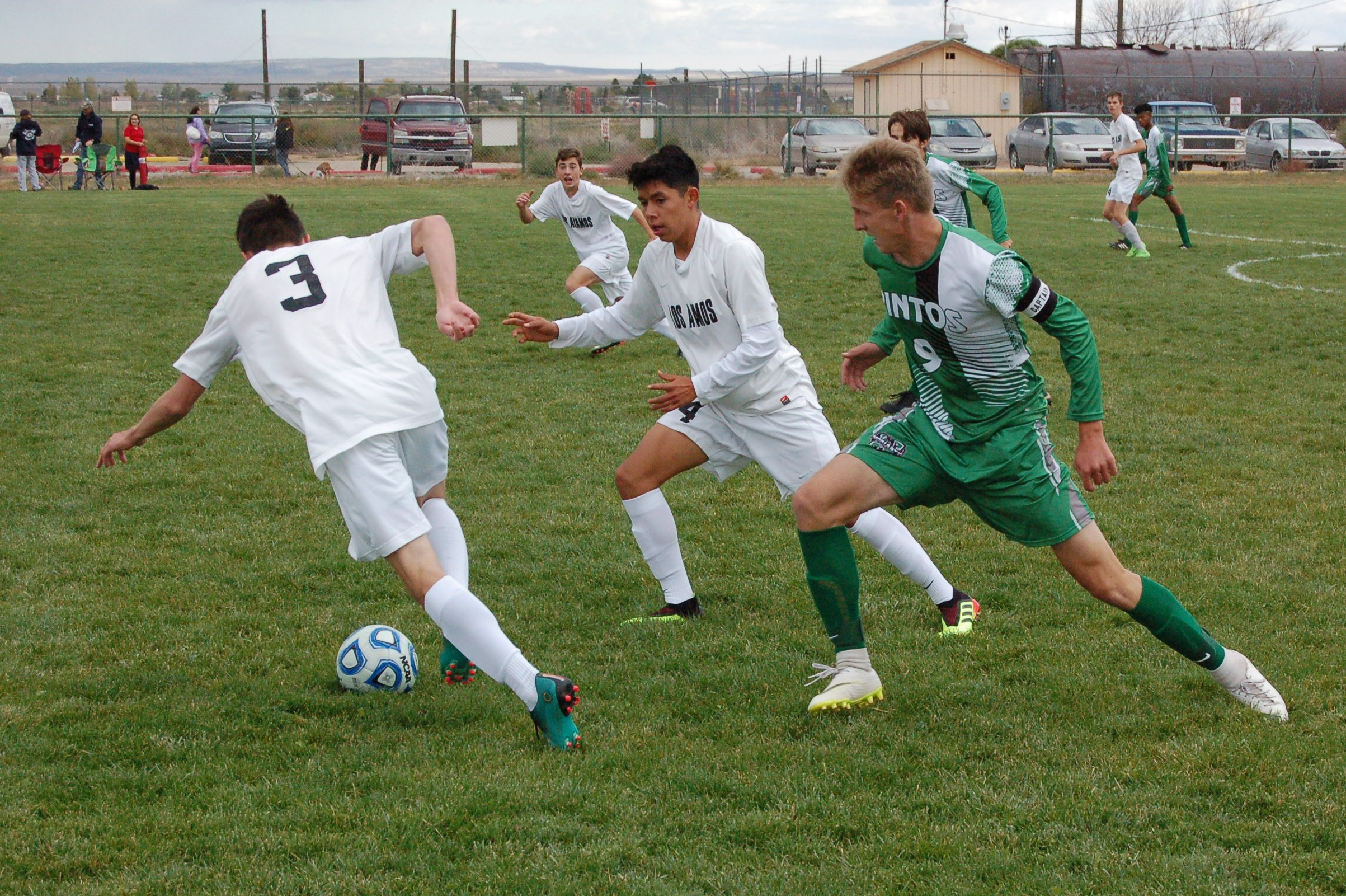 Players hurt as Moriarty boys soccer loses 'an ugly one' to Los Alamos