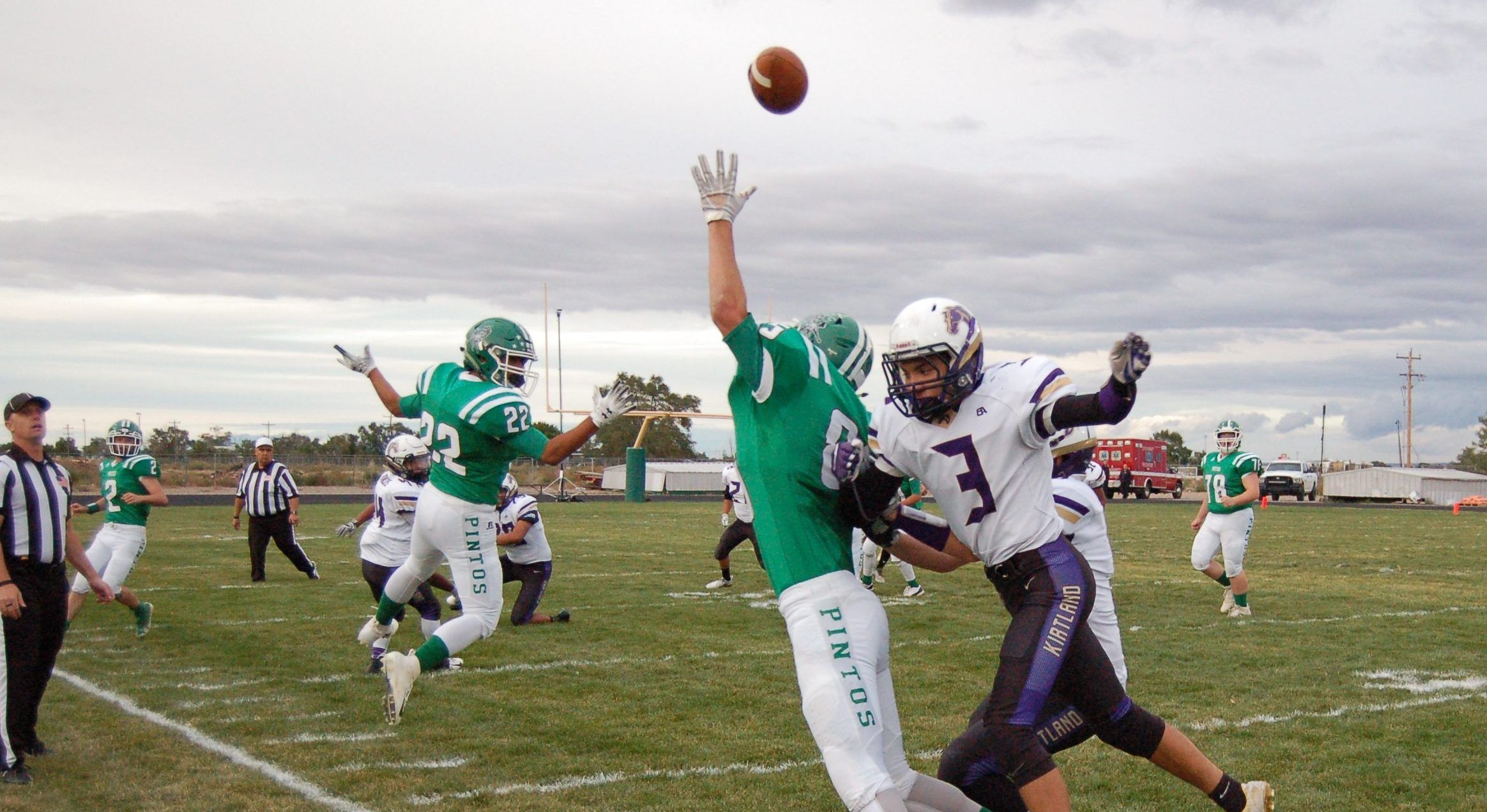 Moriarty High football upended by Kirtland Central Broncos