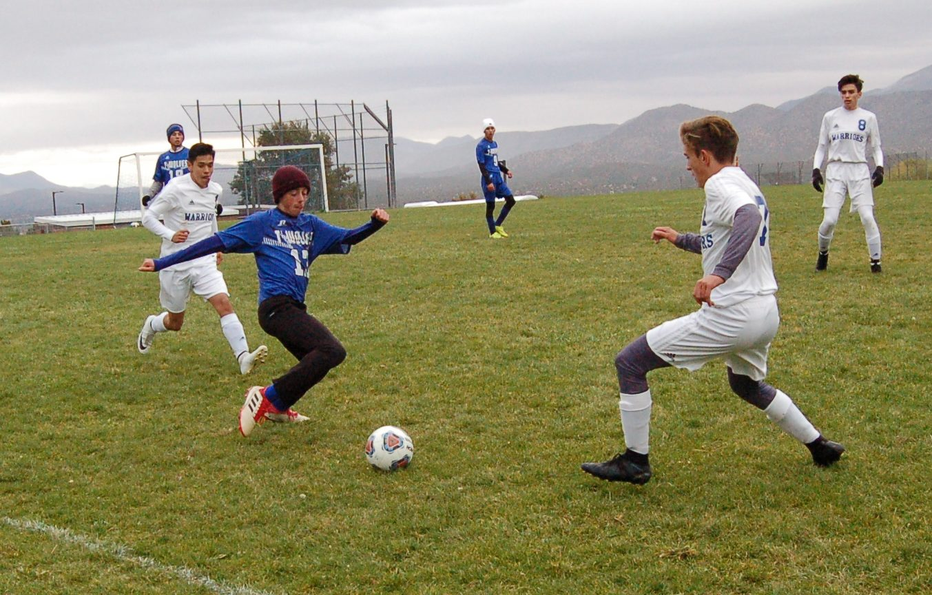 East Mtn. boys, girls soccer chilled by weather, Socorro Warriors