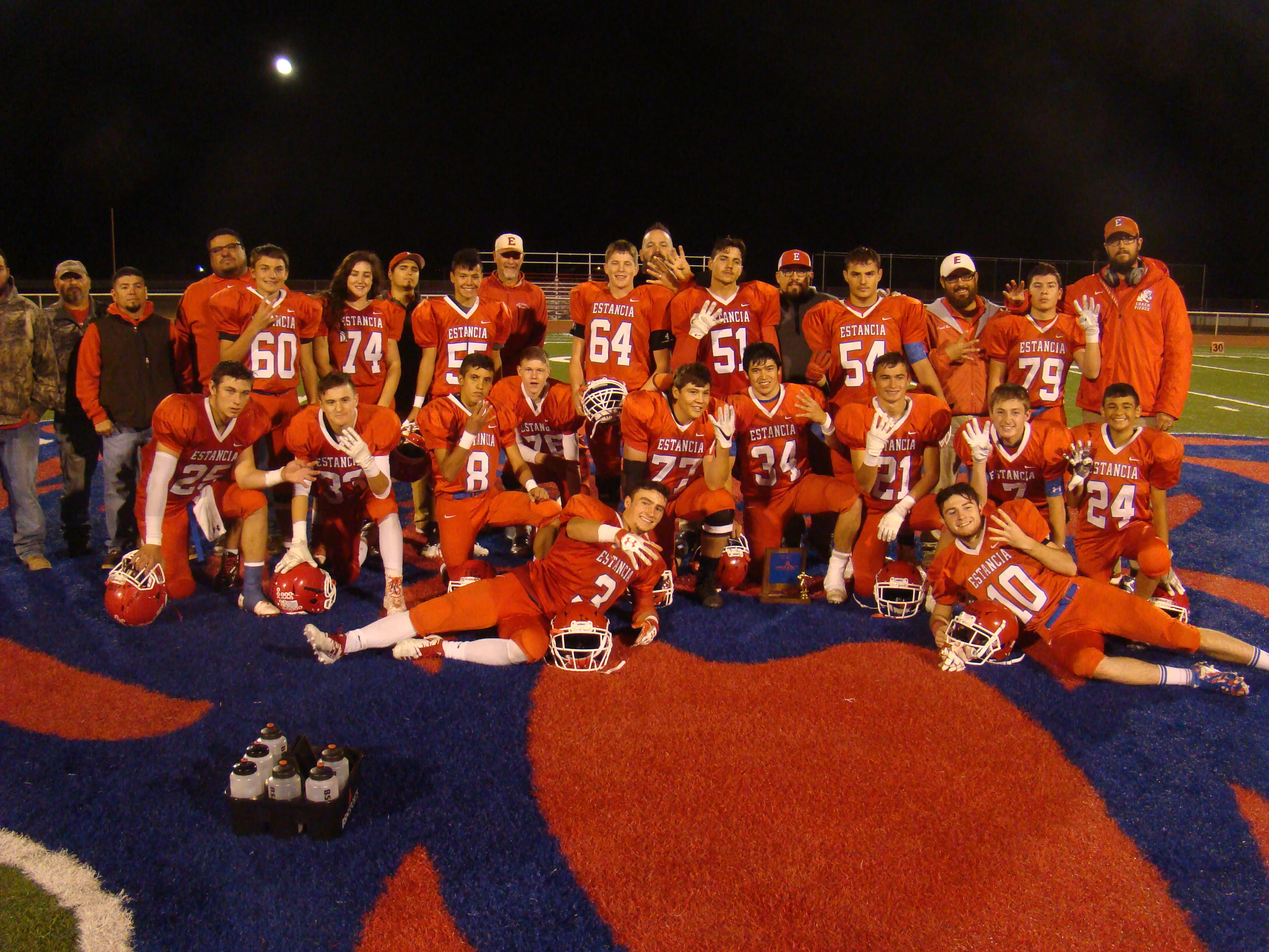 Estancia Bears rout Lordsburg to capture fourth consecutive district title